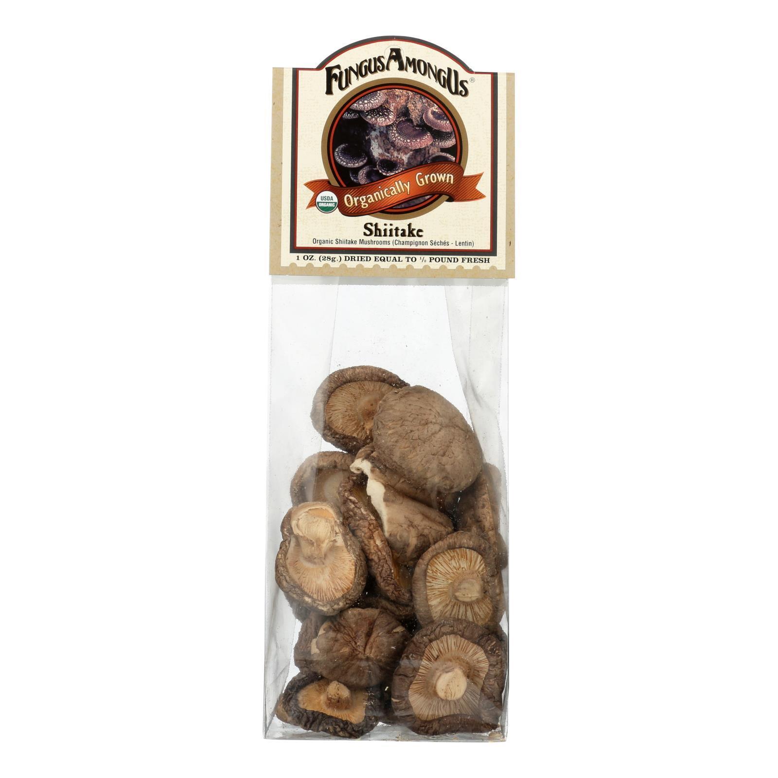 Fungus Among Us Mushrooms - Organic - Dried - Shiitake - 1 oz - case of 8