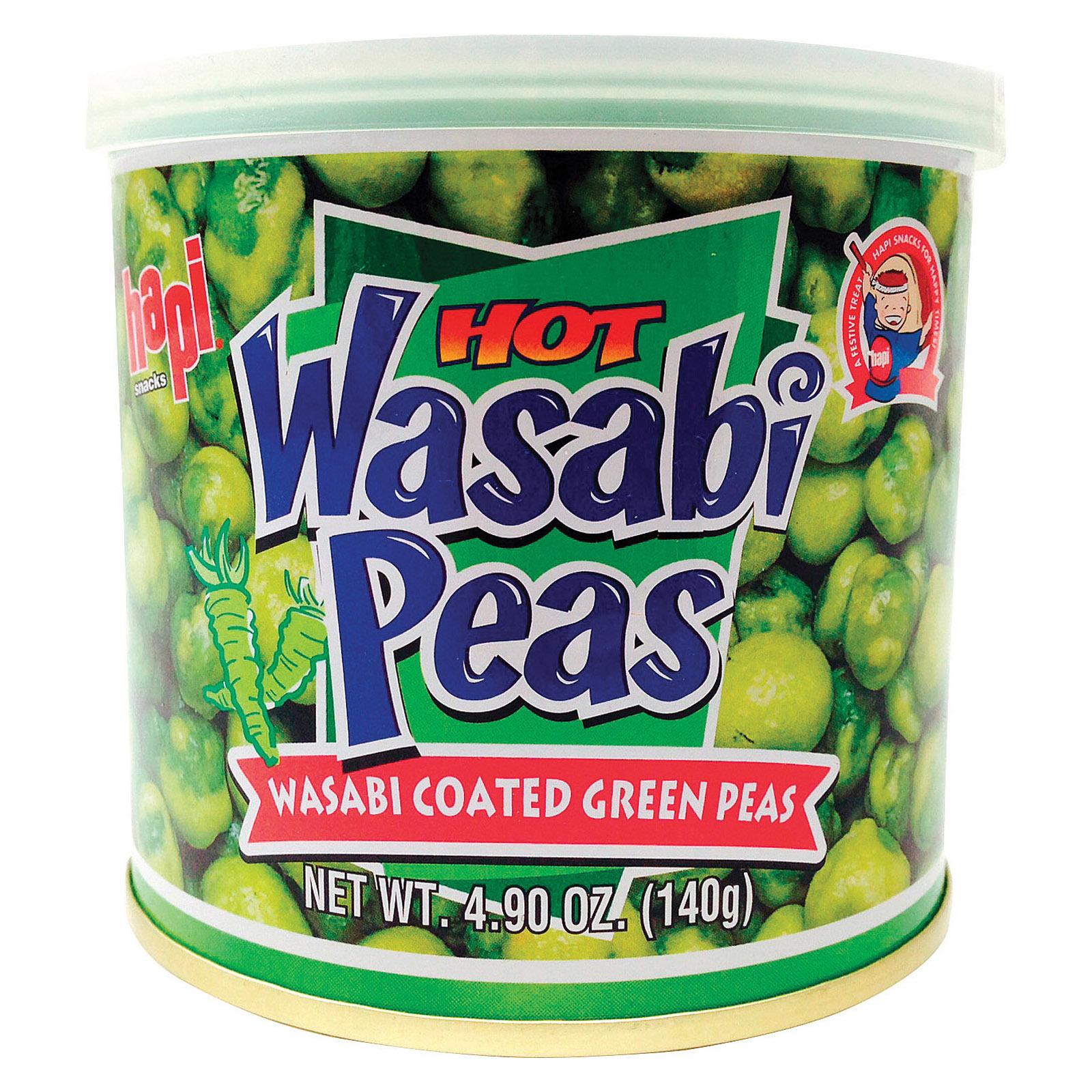 Hapi Green Peas - Hot Wasabi - 4.9 oz.