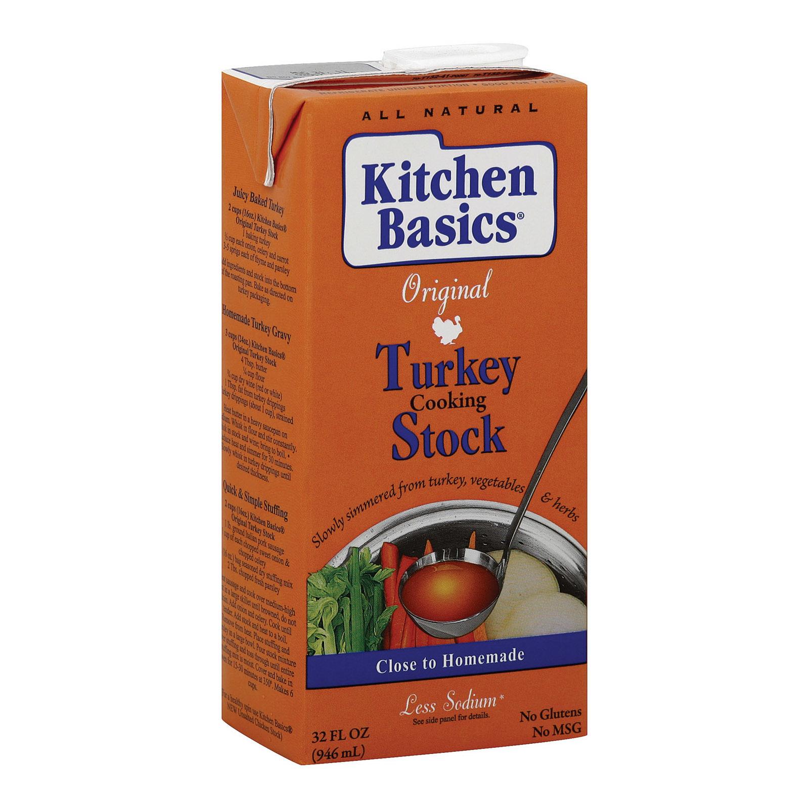 Kitchen Basics Turkey Stock - 32 Fl oz.