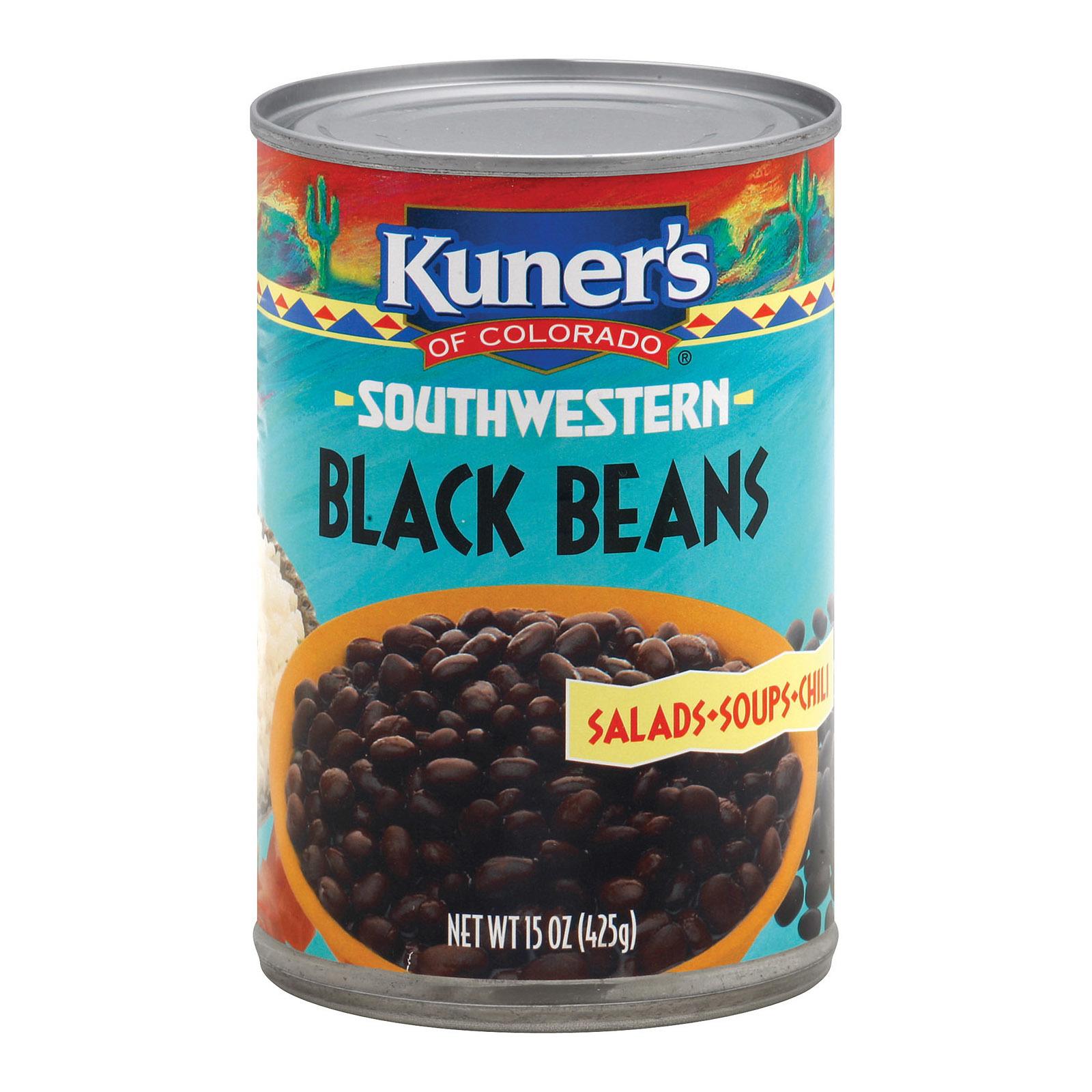 Kuner Black Beans - 15 oz.
