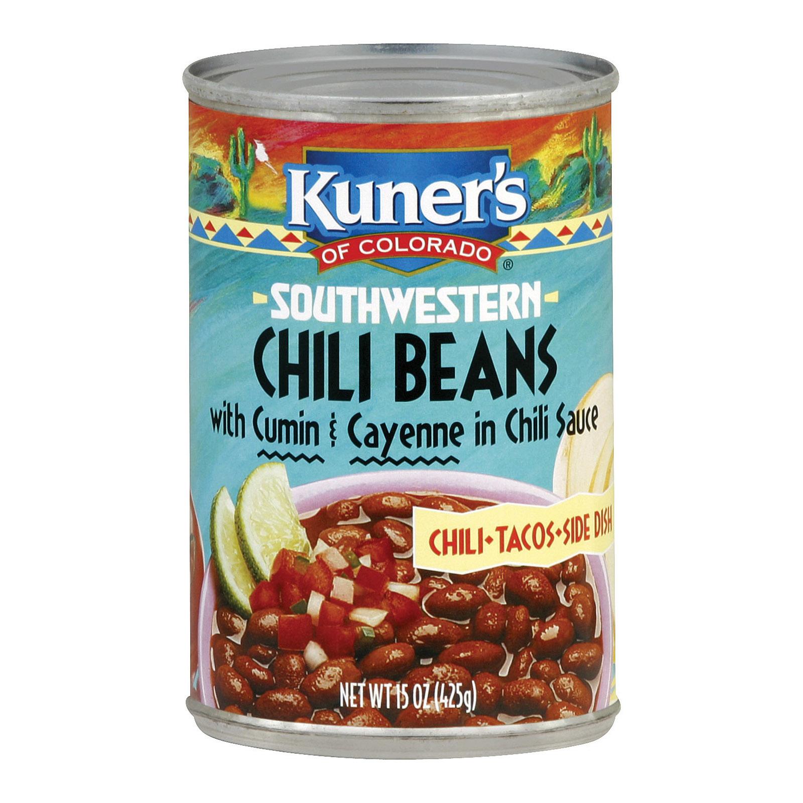 Kuner Southwestern Chili Beans - 15 oz.