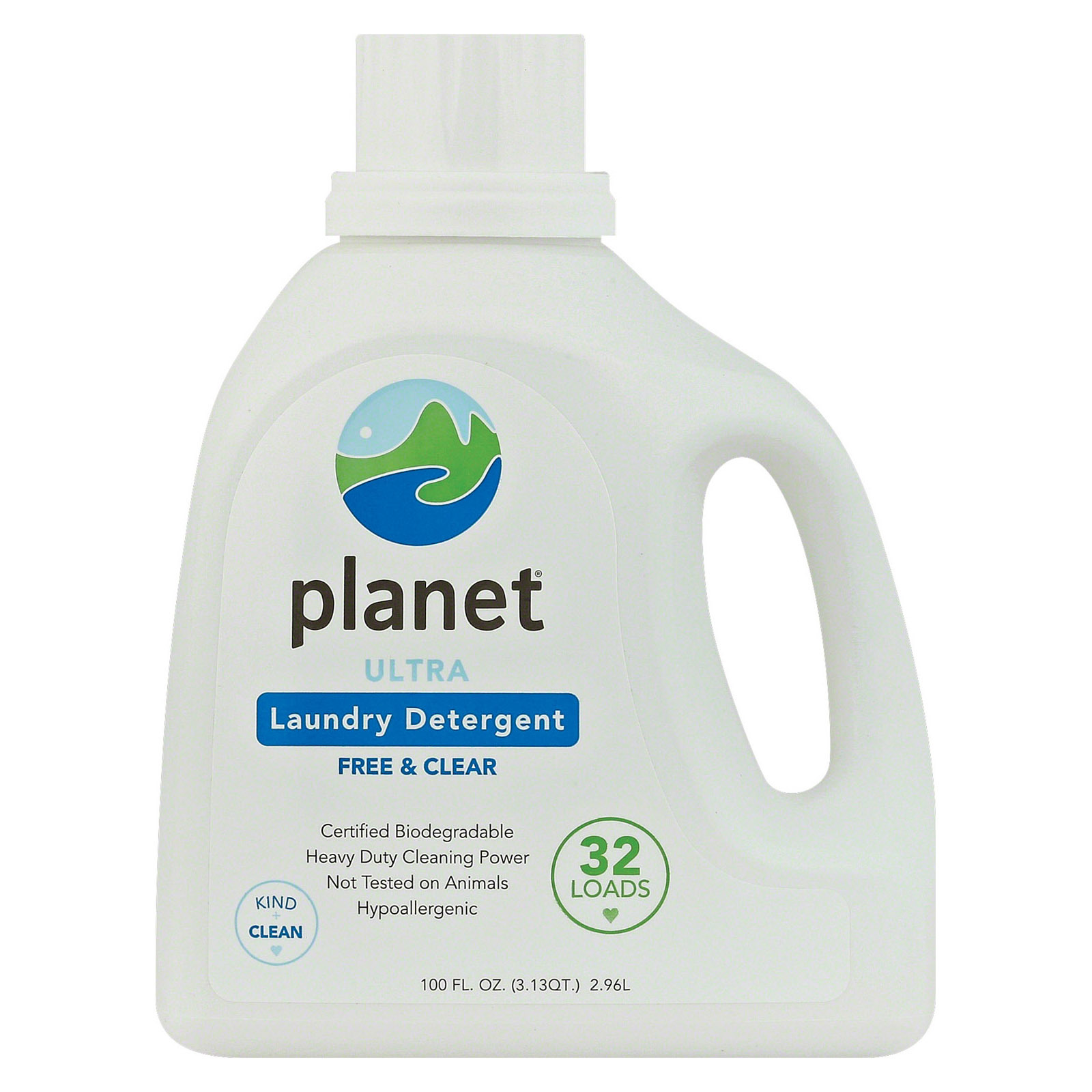 Planet Ultra Powdered Laundry Detergent - - Case of 4 - 100 Fl oz.