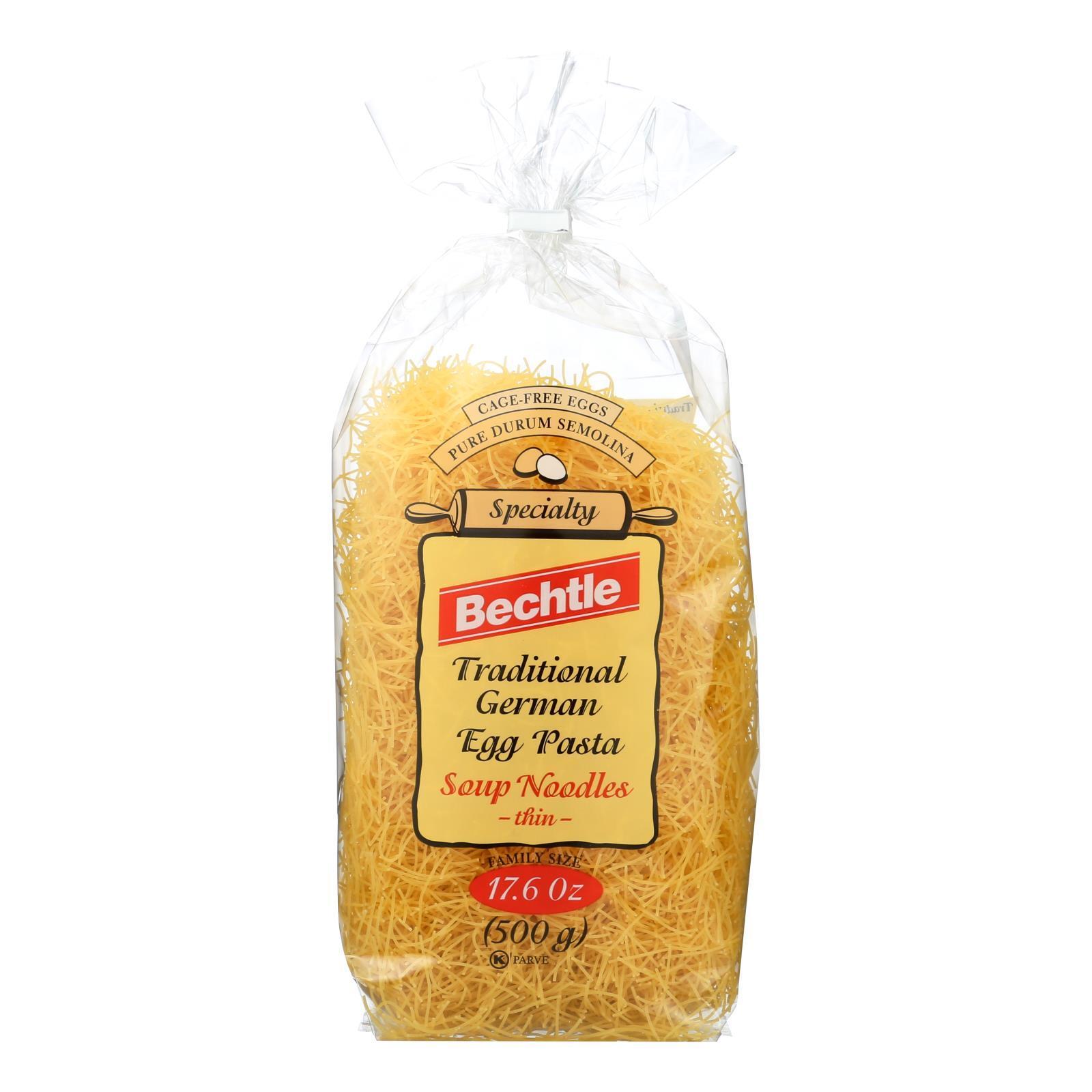 Bechtle Noodles - Fine - Case of 12 - 17.6 oz