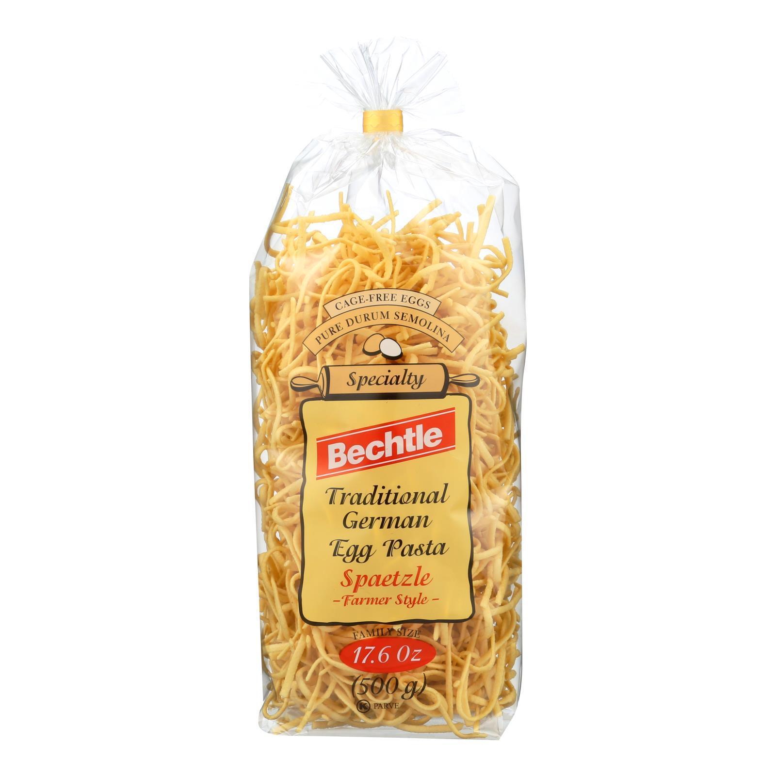 Bechtle Egg Noodles - Spaetzle - Case of 12 - 17.6 oz