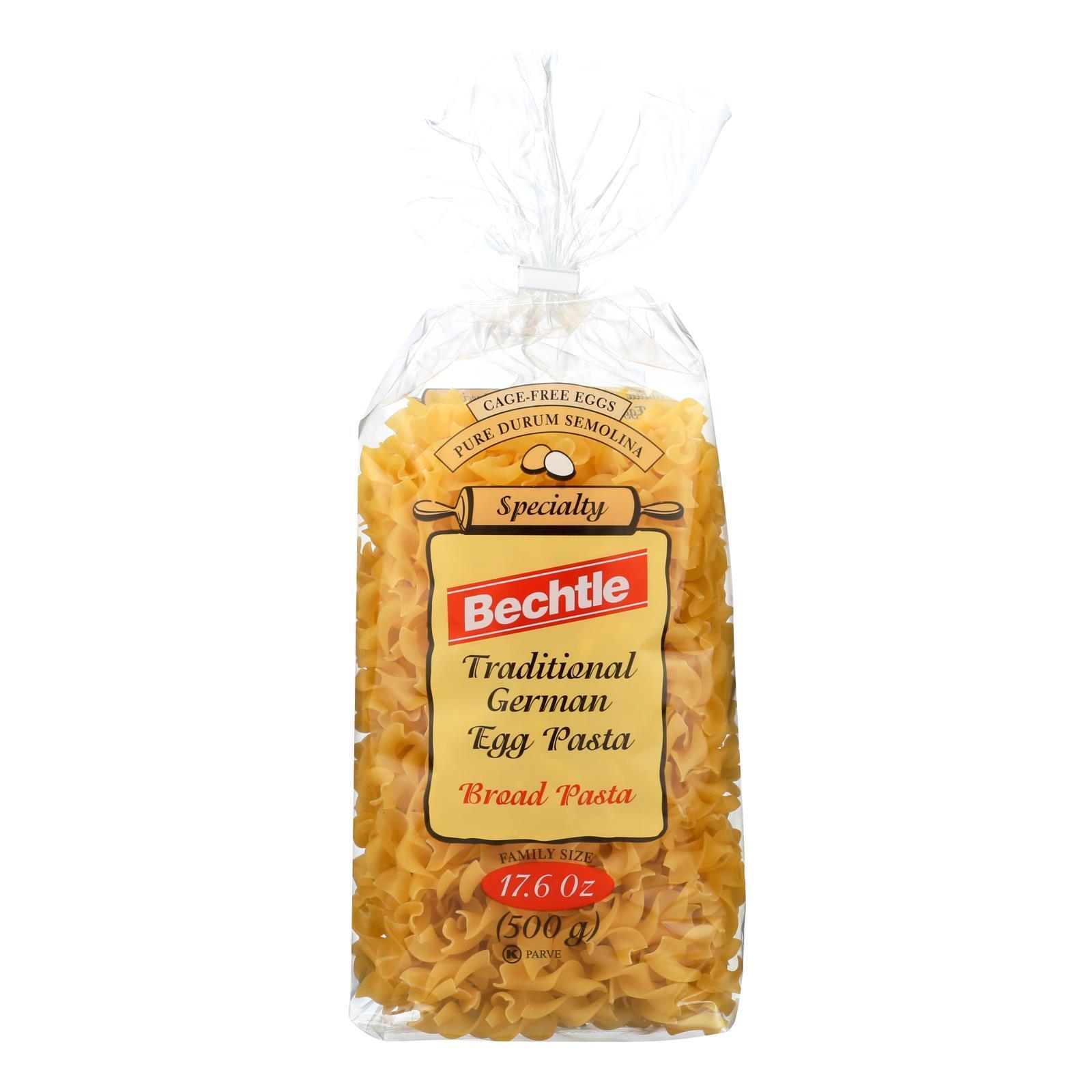 Bechtle Egg Noodle - Broad - Case of 12 - 17.6 oz