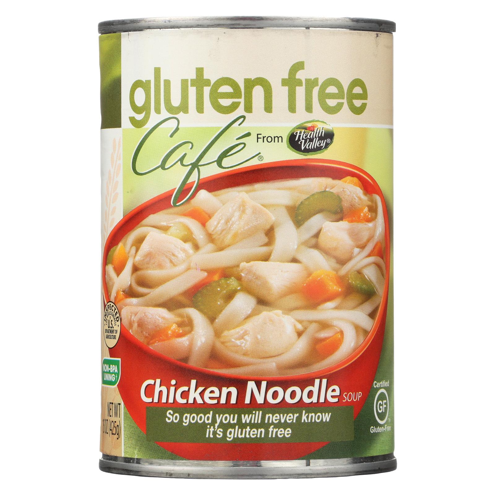 Gluten Free Caf? Noodle Soup - Chicken - Case of 12 - 15 oz.
