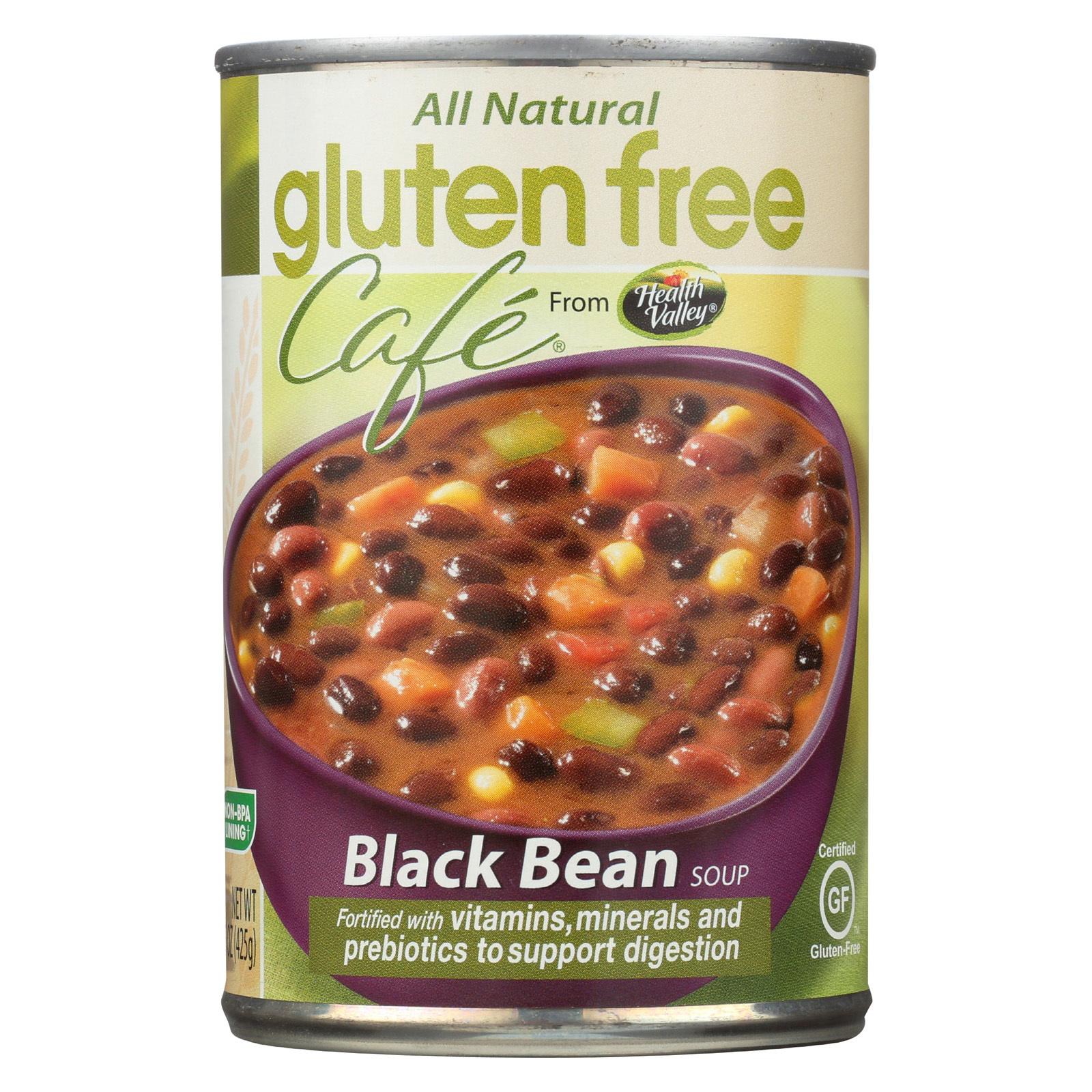 Gluten Free Cafe Soup - Black Bean - Case of 12 - 15 oz