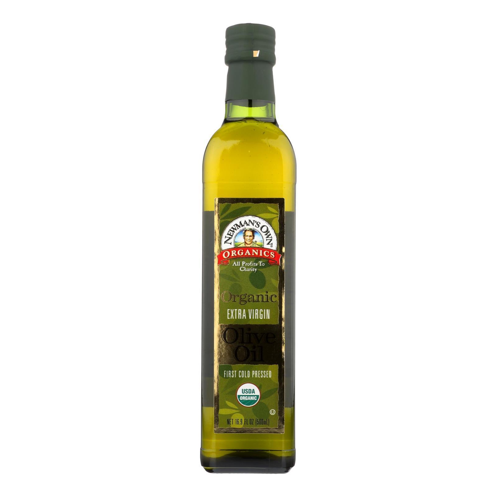 Newman's Own Organics Organic Olive Oil  - Case of 6 - 16.9 Fl oz.
