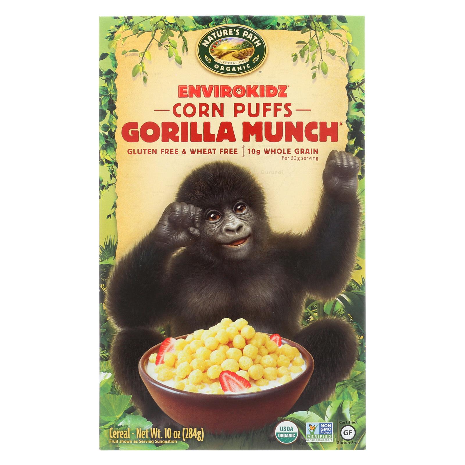 Envirokidz Organic Gorilla Munch - Corn Puffs - 10 oz
