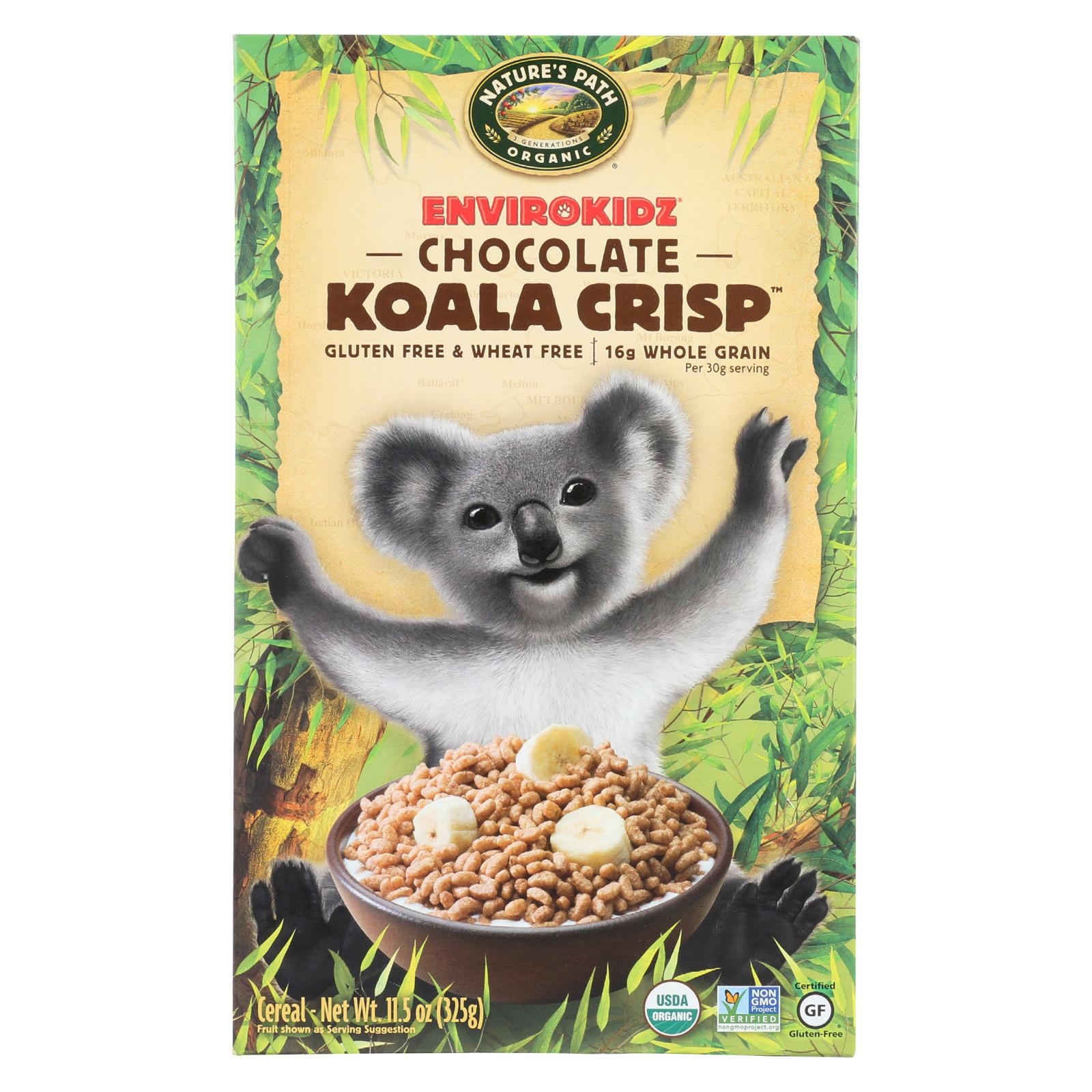 Envirokidz Organic Koala Crisp - Chocolate - 11.5 oz