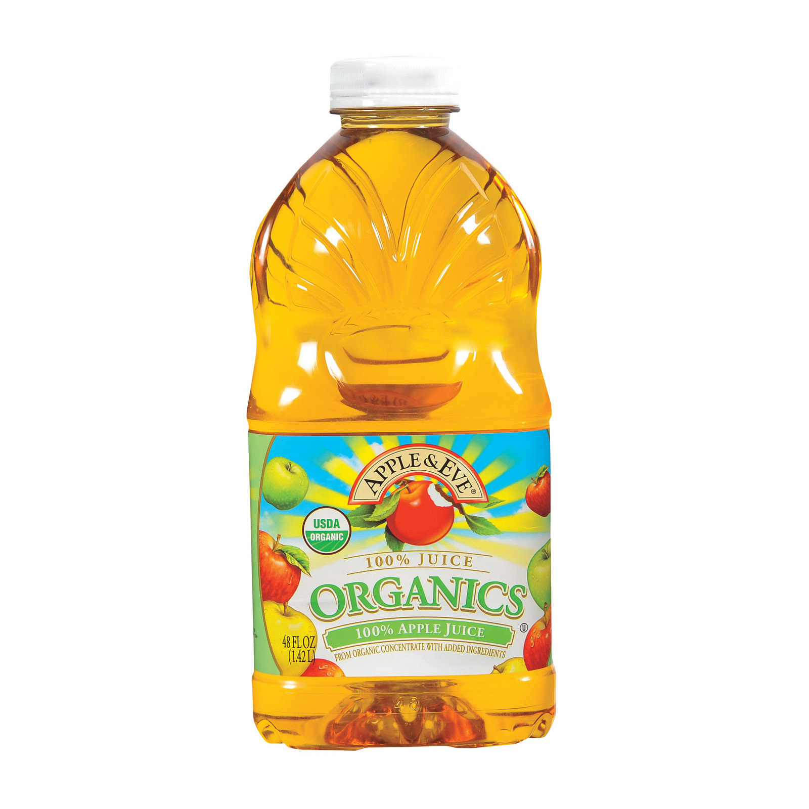 Apple and Eve Organic Juice Apple - Case of 8 - 48 fl oz.