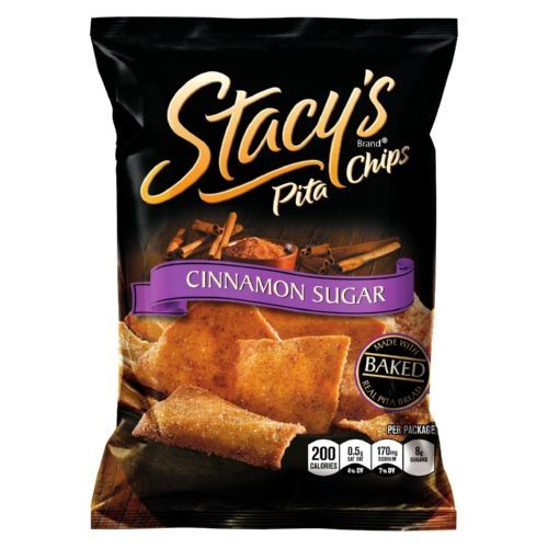Stacey's Pita Chips - Cinnamon Sugar - 1.5 oz - Case of 24