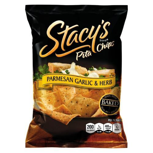 Stacey's Pita Chips - Parmesan Garlic Herb - 1.5 oz - Case of 24