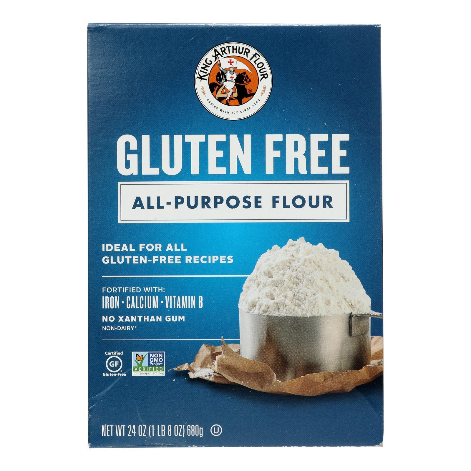 King Arthur Multi Purpose Flour - Case of 6 - 24 oz.