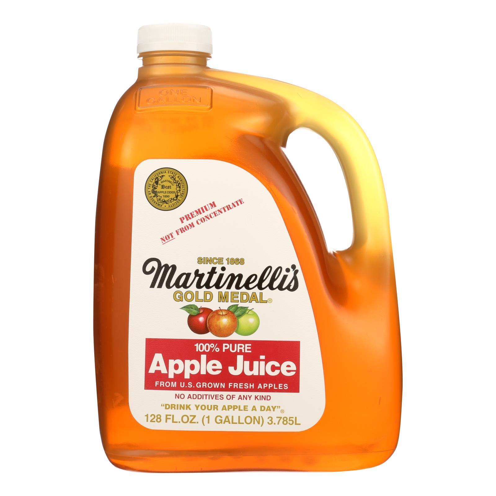 Martinelli's Apple Juice - Case of 4 - 128 fl oz
