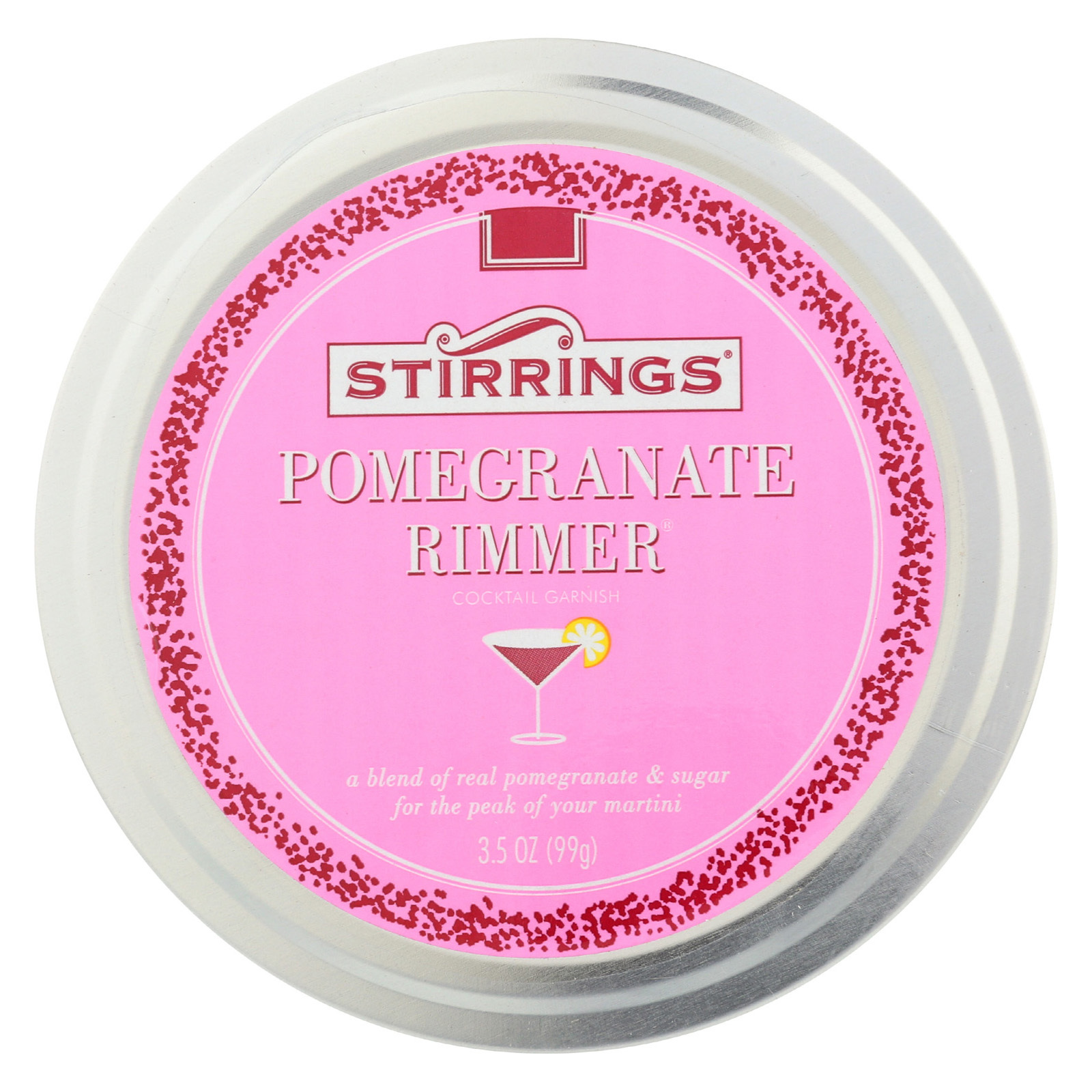 Stirrings Pomegranate Rimmer - Case of 6 - 3.5 fl oz