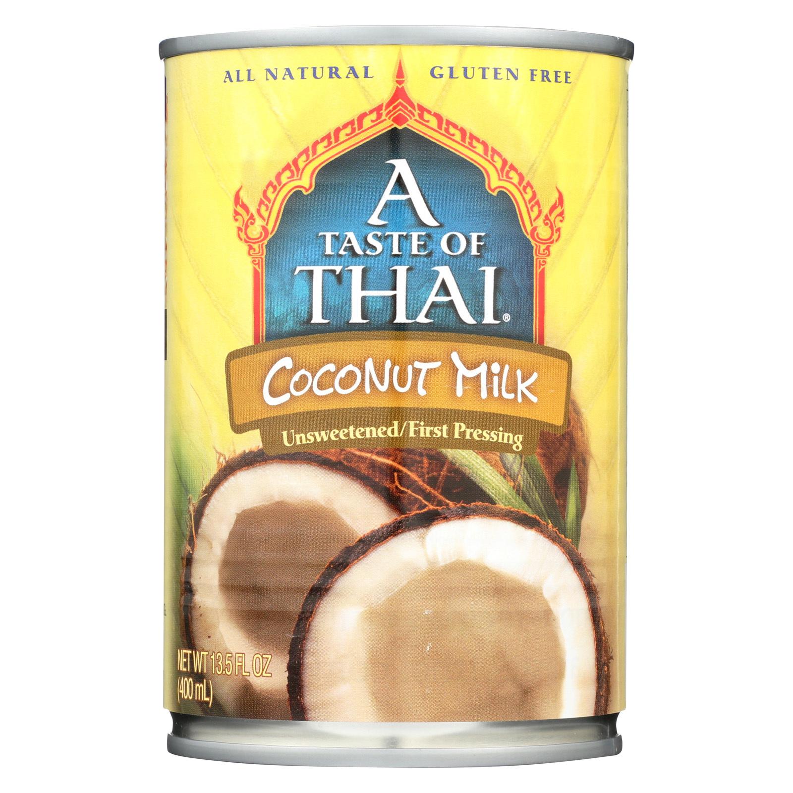 Taste of Thai Coconut Milk - Case of 12 - 13.5 Fl oz.