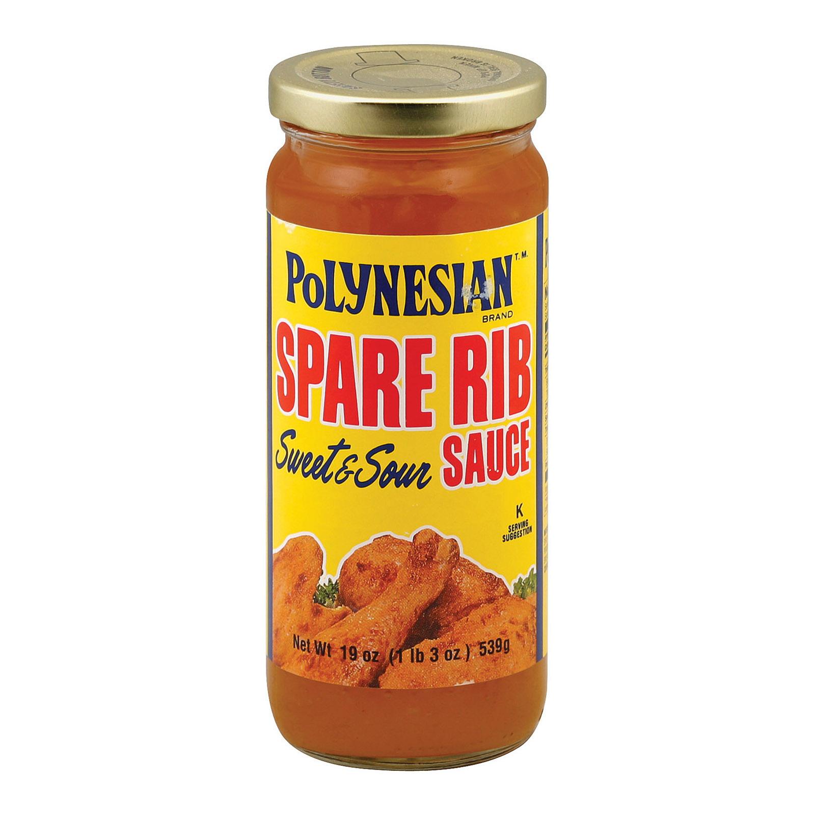 Polynesian Sparerib Sauce - 19 oz.