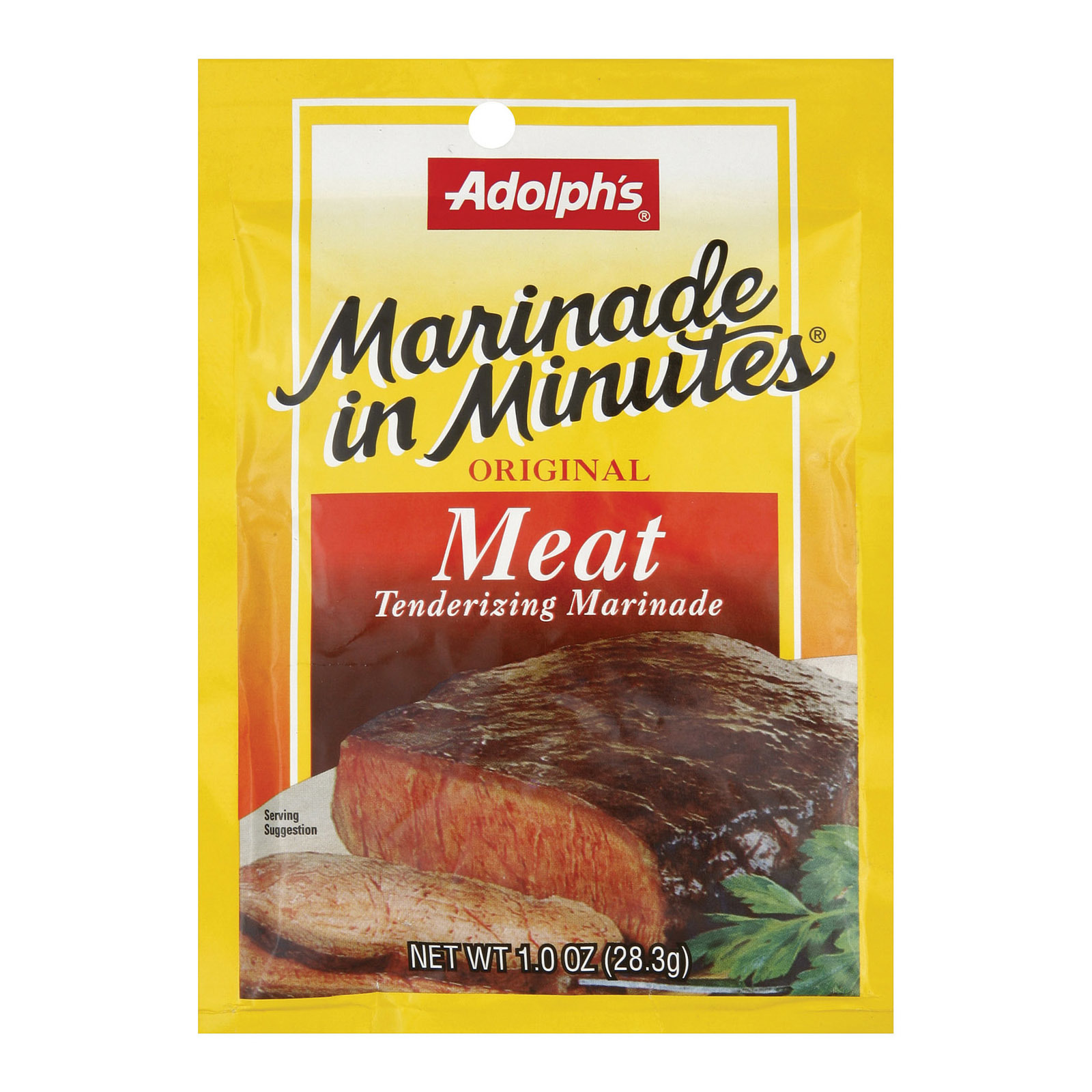 Adolphs Marinade - Meat - Case of 24 - 1 oz