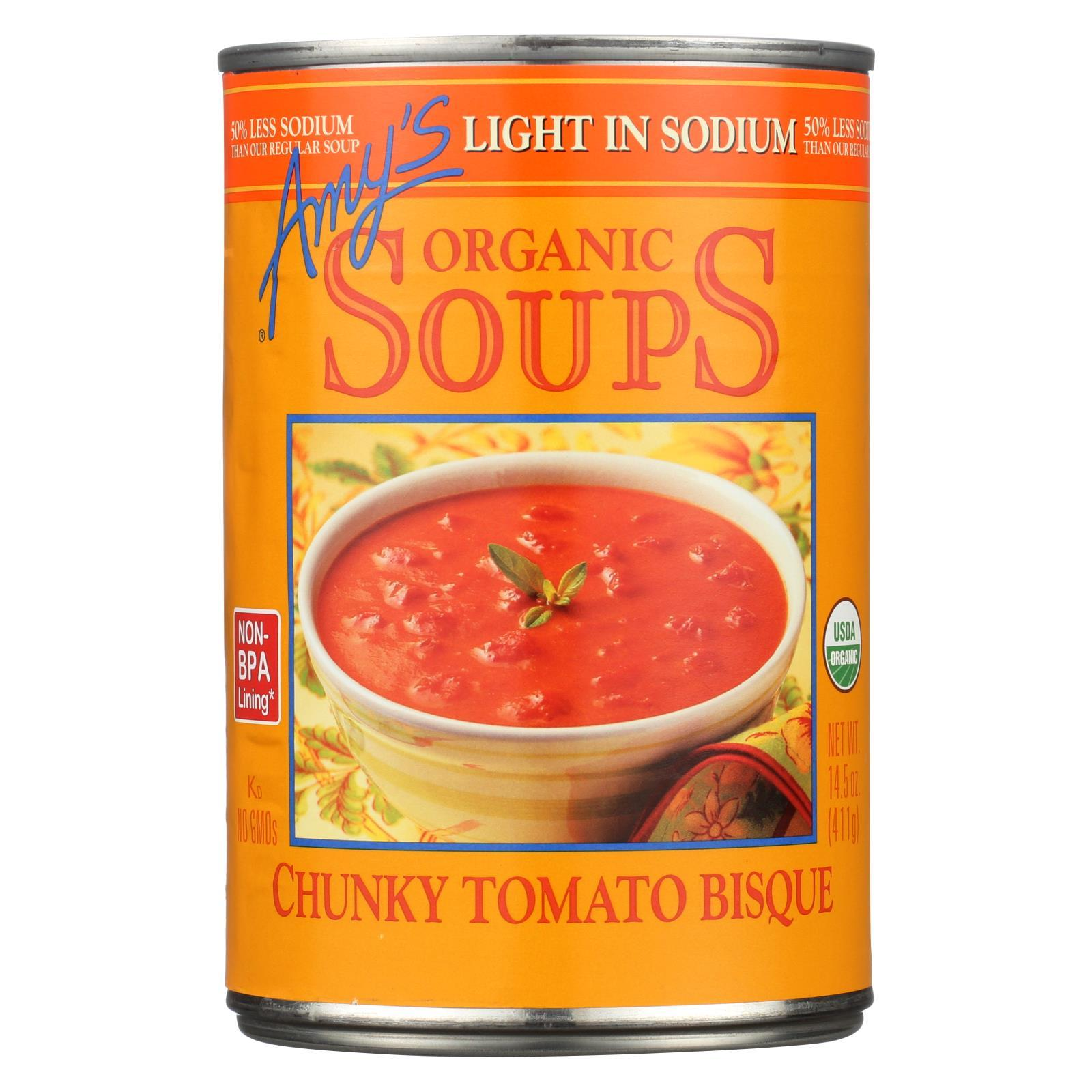 Amy's Soup - Chunky Tomato Bisque - Case of 1 - 14.5 oz.