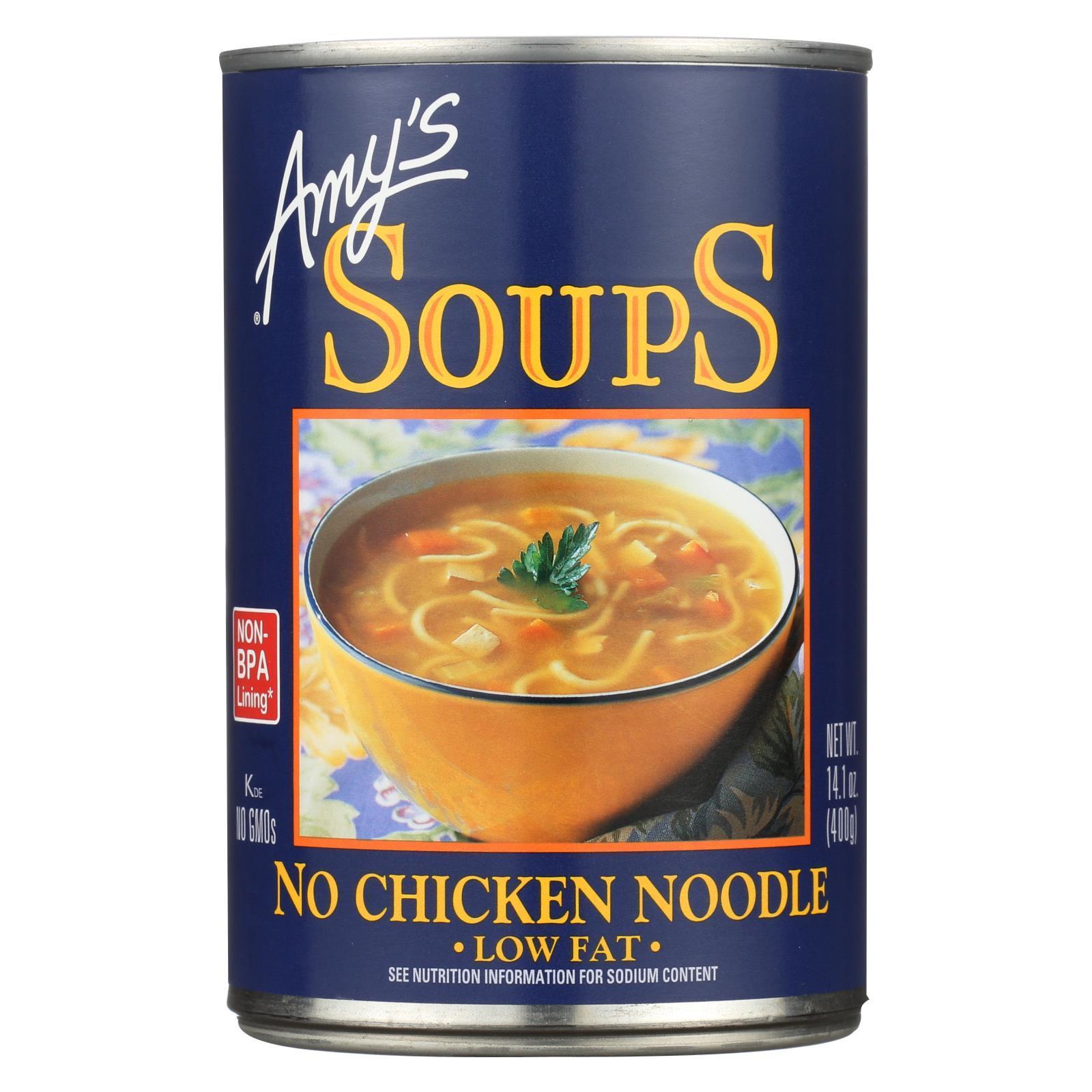 Amy's Soup - No Chicken Noodle - Case of 1 - 14.1 oz.