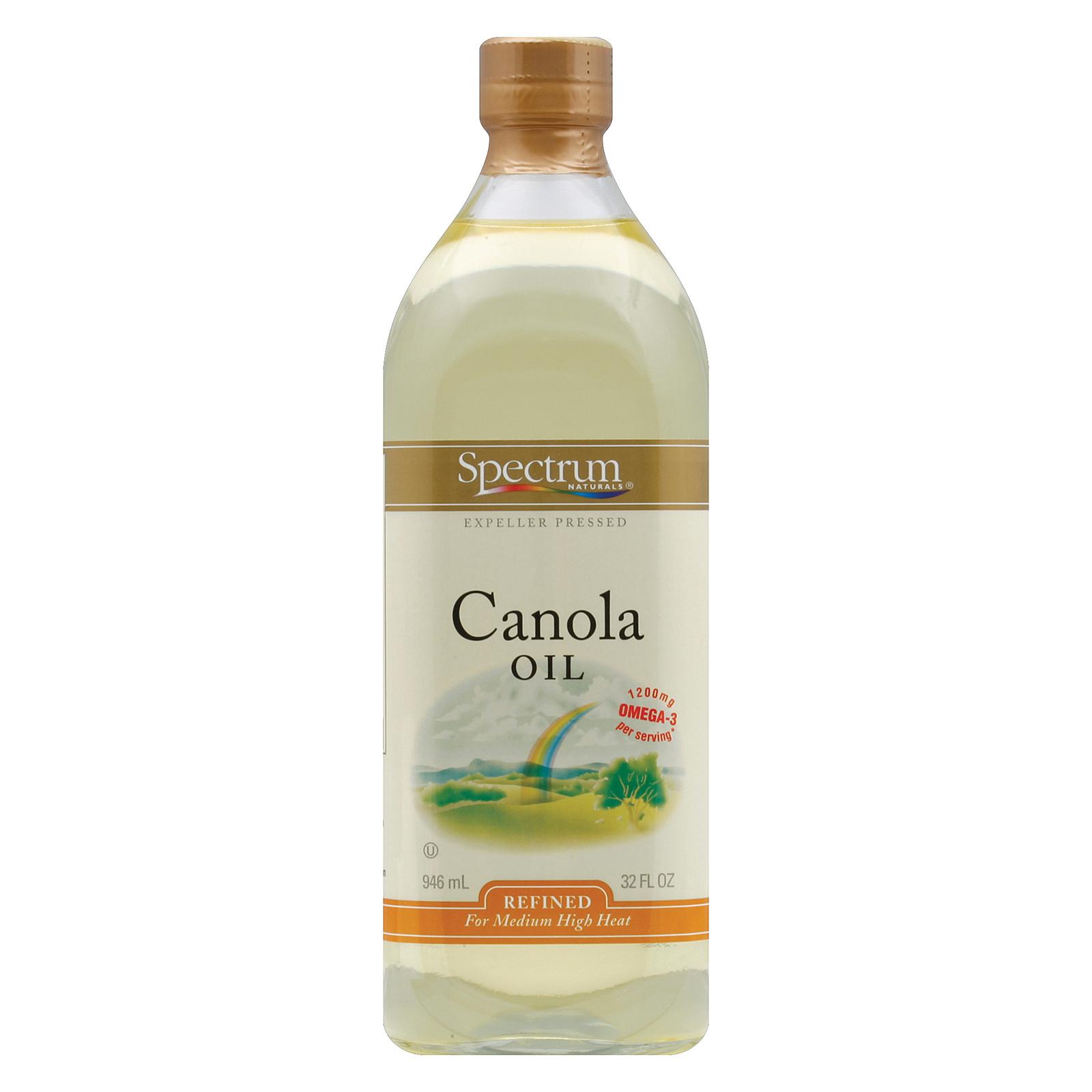 Spectrum Naturals Refined Canola Oil - 32 Fl oz.