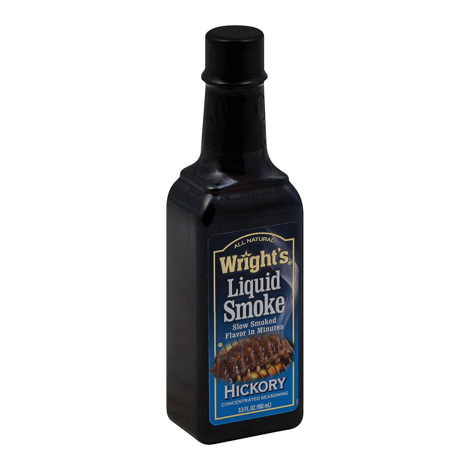 Wrights Hickory Seasoning Liquid Smoke - 3.5 Fl oz.