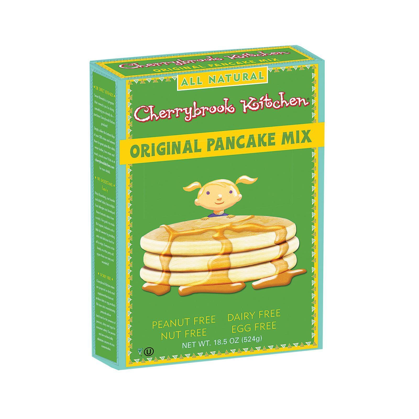 Cherrybrook Kitchen Pancake Mix - Original - Case of 6 - 18.5 oz