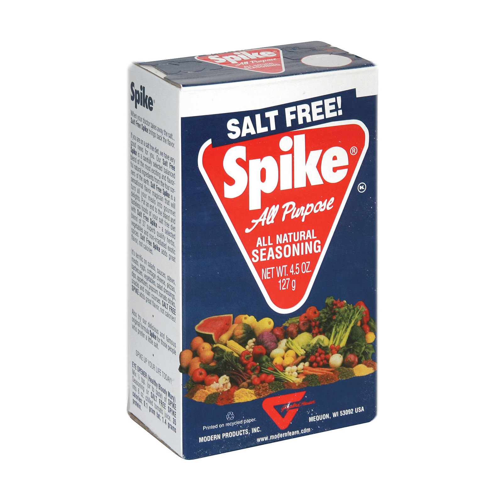 Modern Products Gourmet Spike Seasoning - Salt Free - Case of 12 - 4.5 oz.