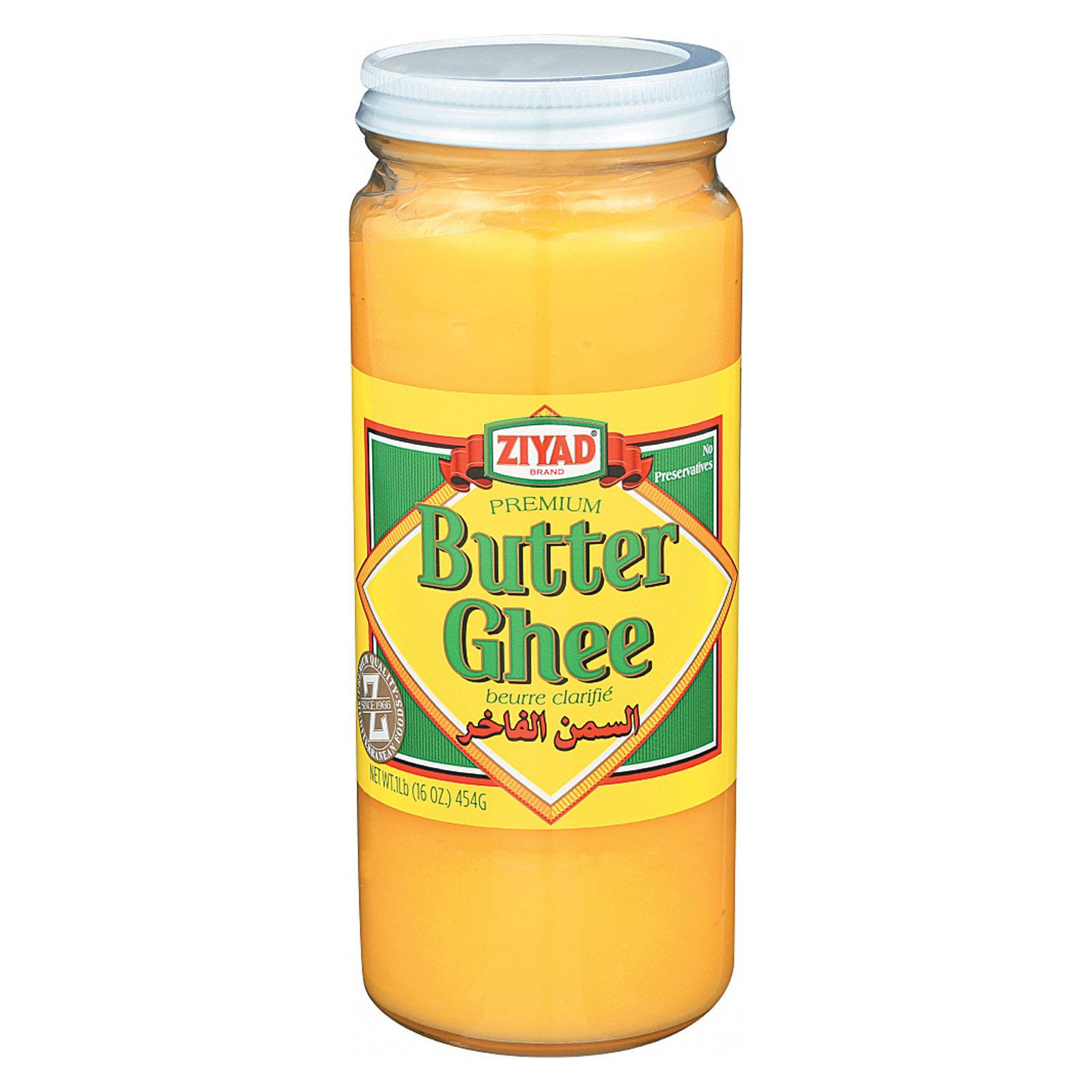 Ziyad Butter Ghee - Case of 6 - 16 oz