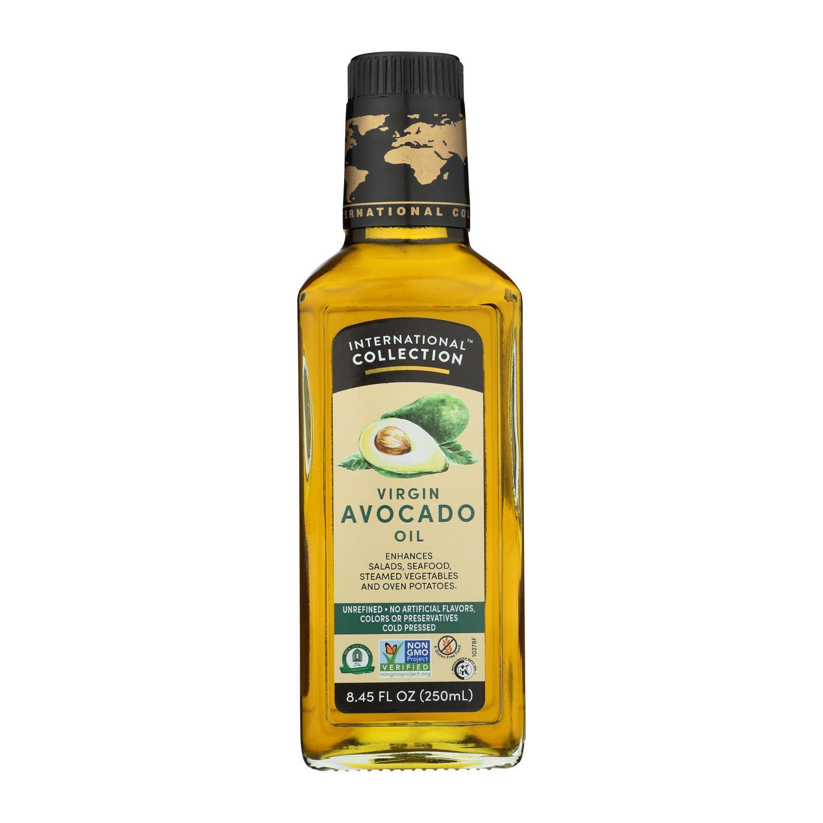 International Collection Avocado Oil - Virgin - Case of 6 - 8.45 Fl oz.
