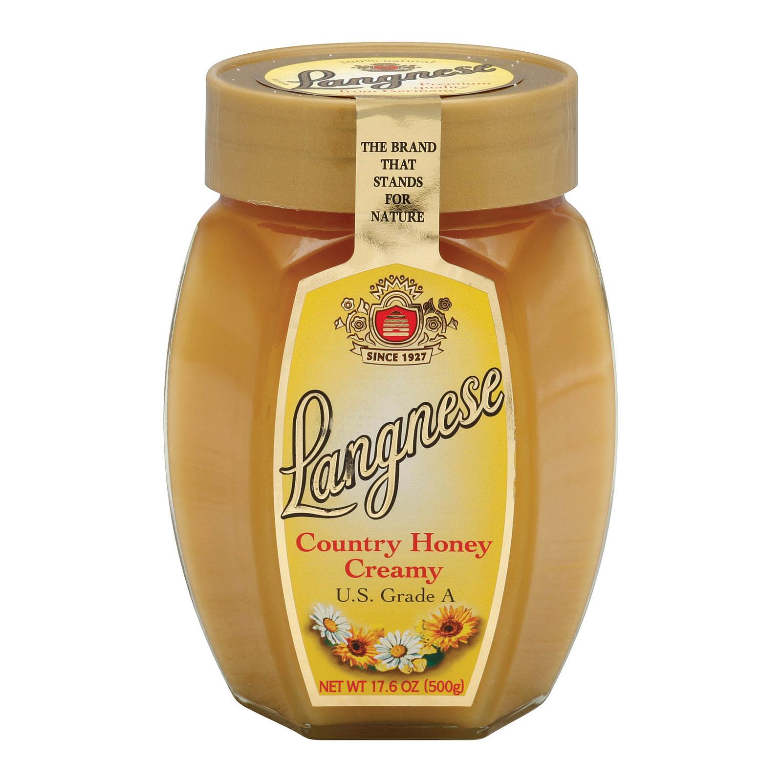Langnese Honey Country Honey - Creamy - Case of 10 - 17.6 oz.