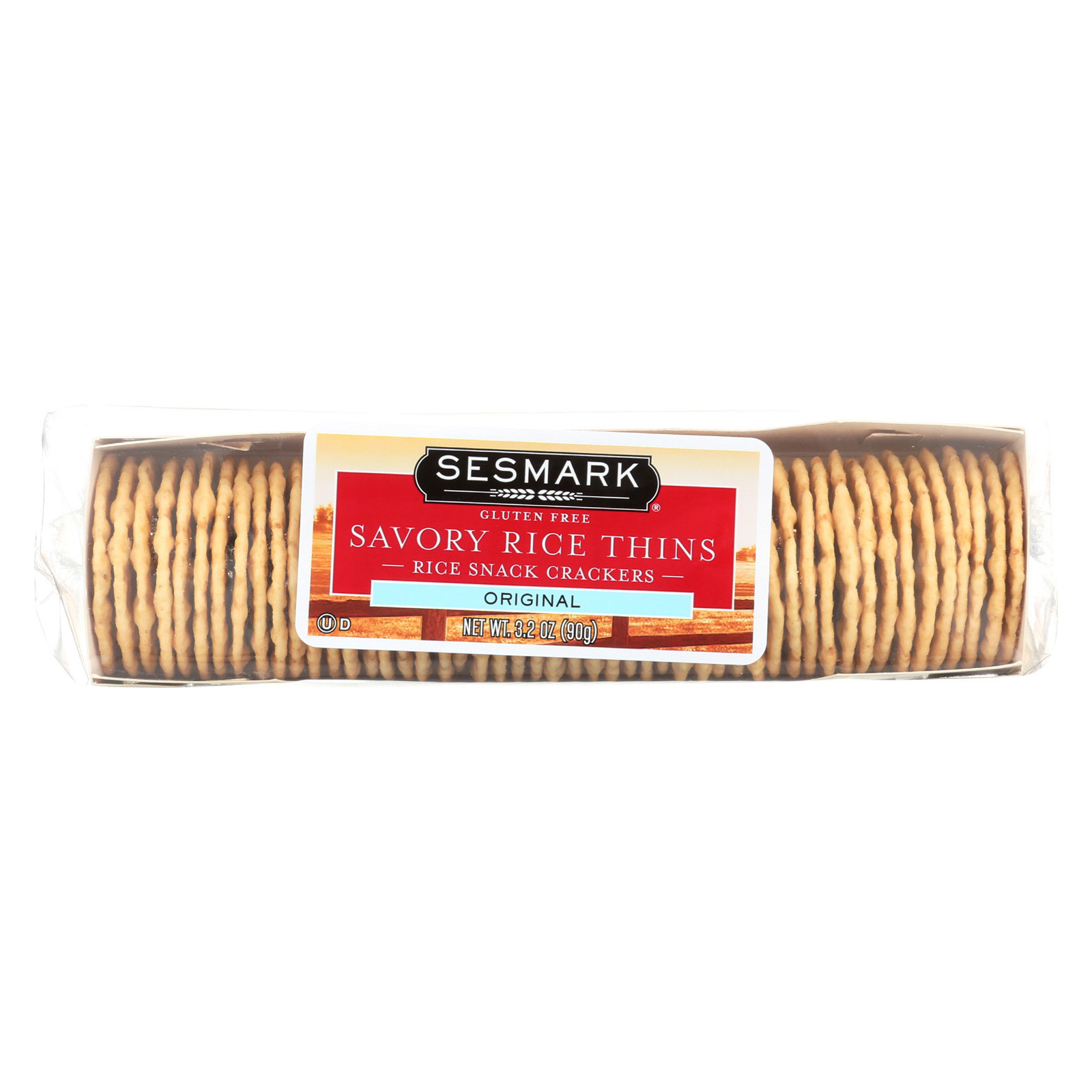 Sesmark Foods Savory Thins - Original - 3.2 oz