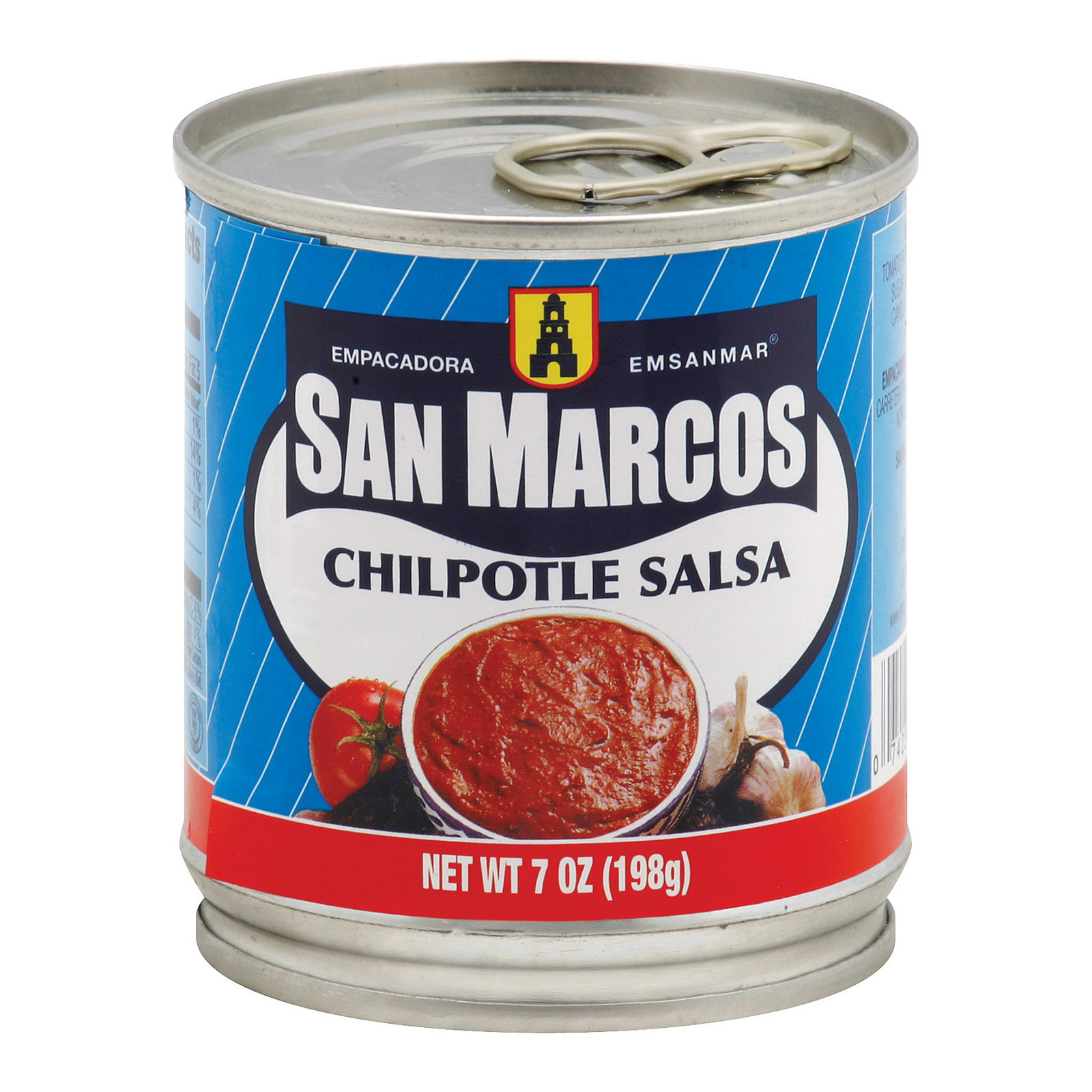 San Marcos Sauce - Chipotle - Case of 24 - 7 fl oz