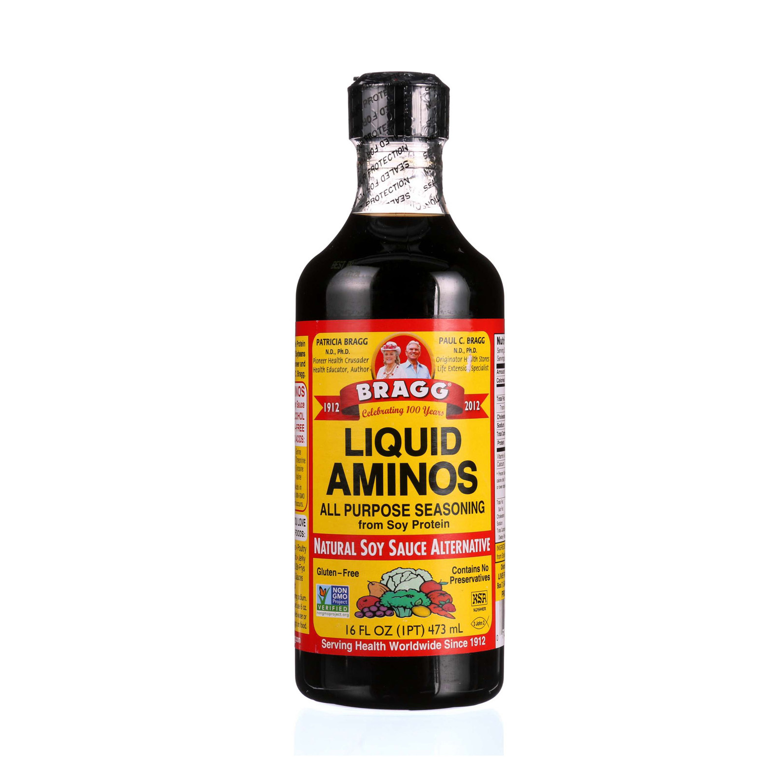 Bragg Liquid Aminos - Case of 3 - 16 fl oz