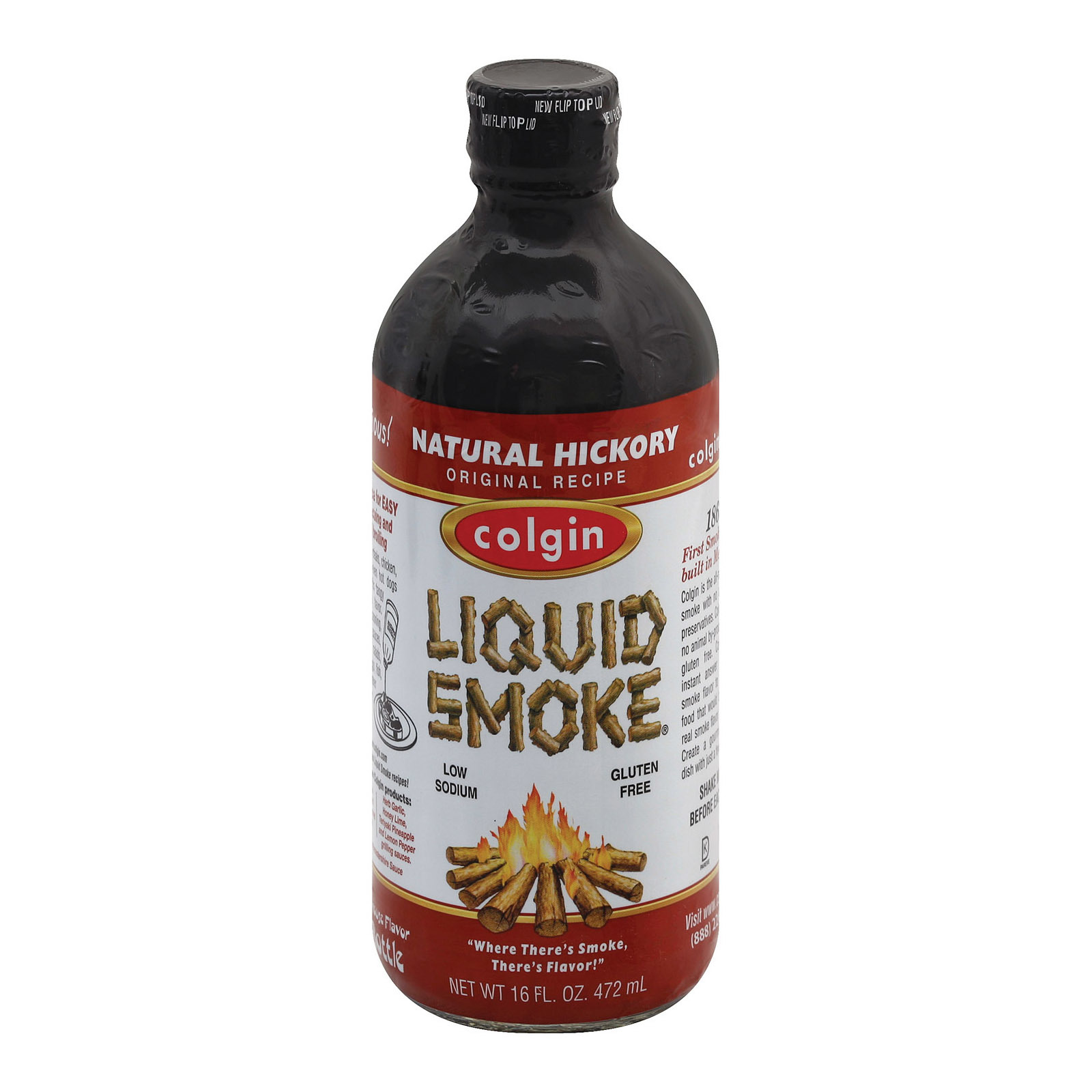 Colgin Liquid Smoke - Hickory - Case of 6 - 16 fl oz