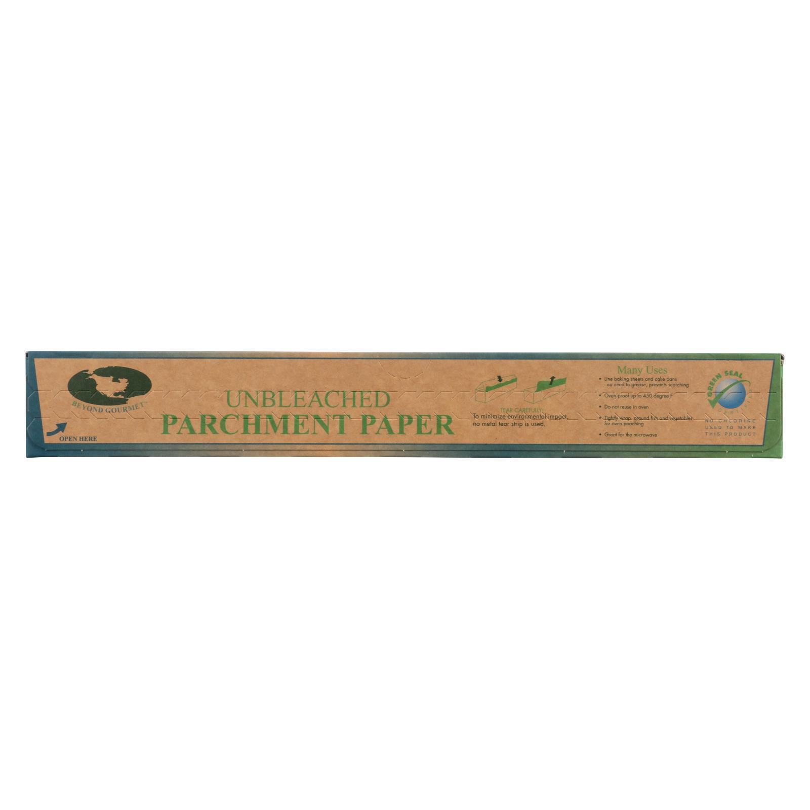 Beyond Gourmet Parchment Paper - Unbleached - 1 Roll