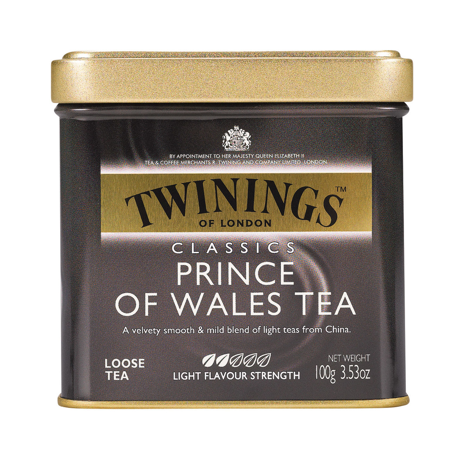 Twinings Tea Tea - Price Wales - Case of 6 - 3.53 oz