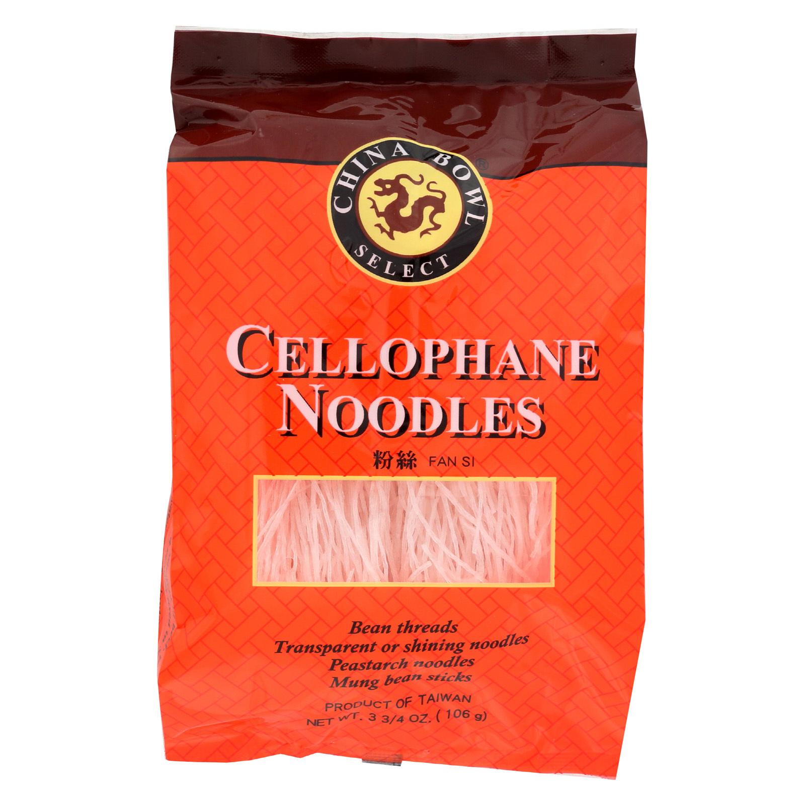 China Bowl Noodle - Cello - Case of 6 - 3.75 oz