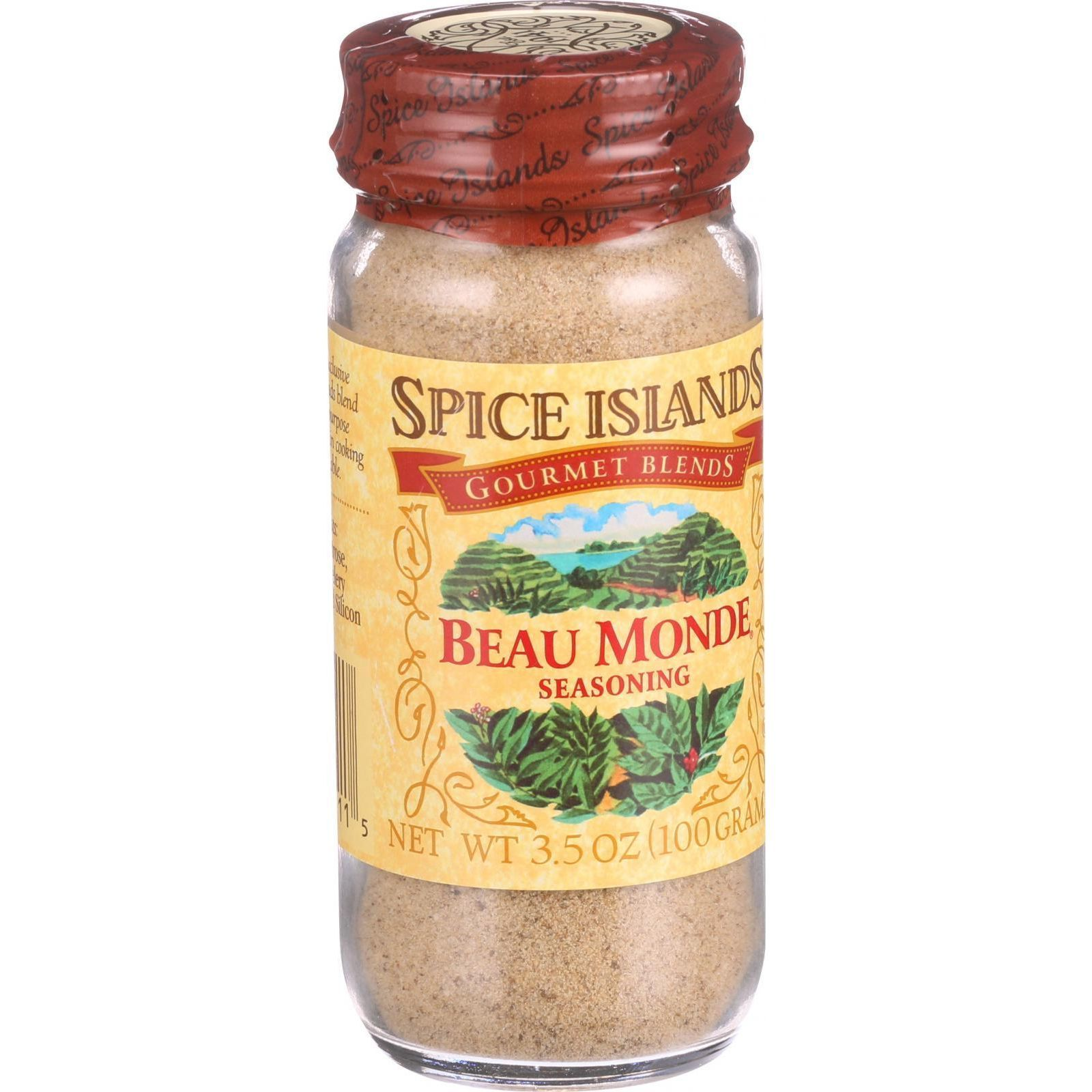 Spice Island Seasoning - Is Beau Monde - Case of 3 - 3.5 oz