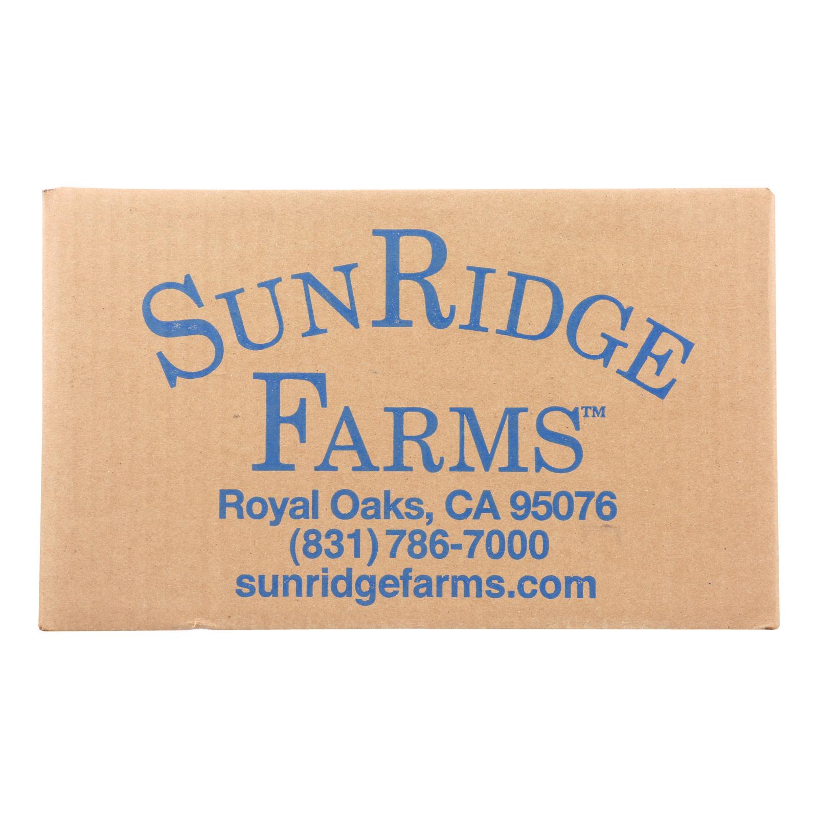 Sunridge Farms All Natural Dark Chocolate Blueberries - Case of 10 - 1 lb.
