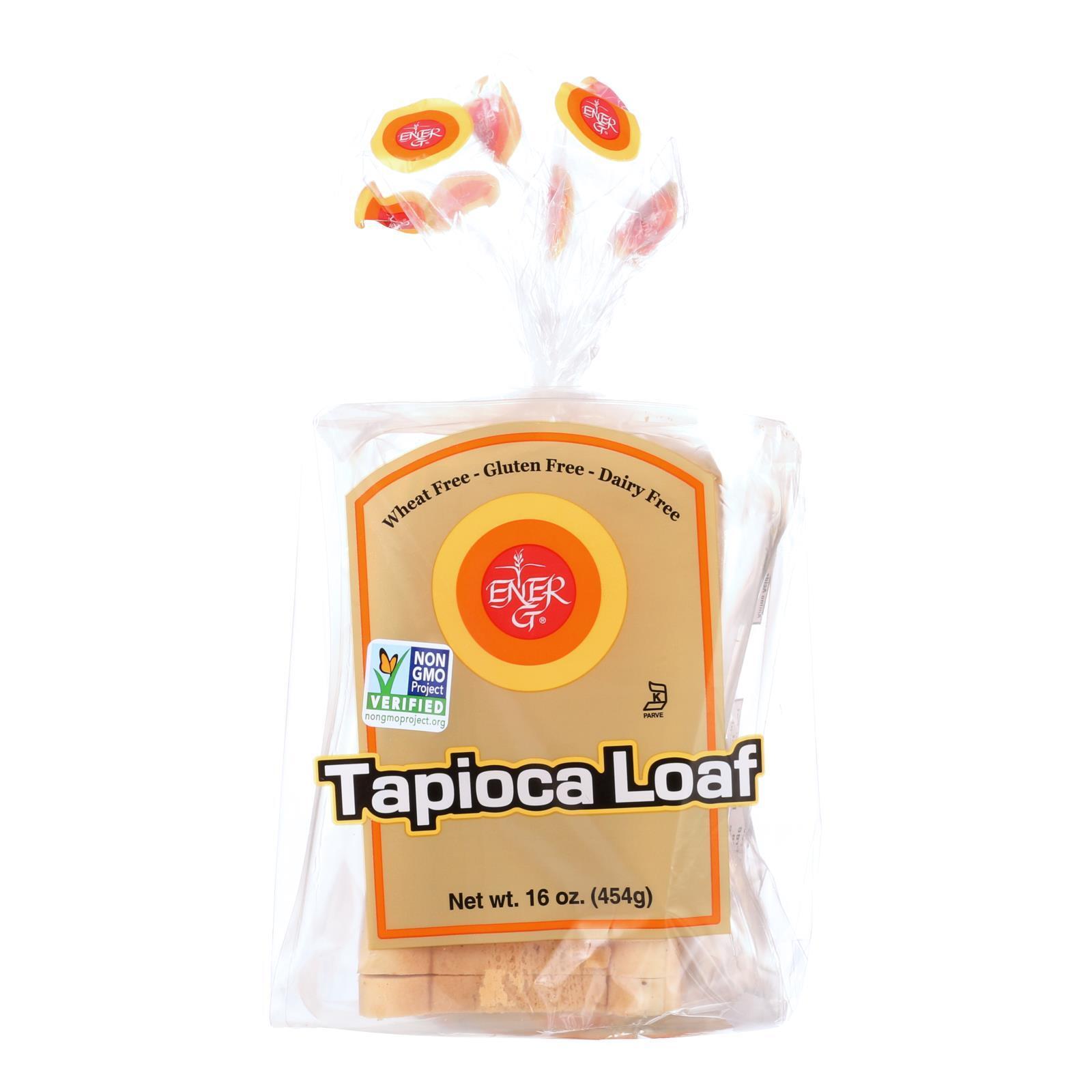 Ener-G Foods Loaf - Tapioca - Thin Sliced - 16 oz - case of 6
