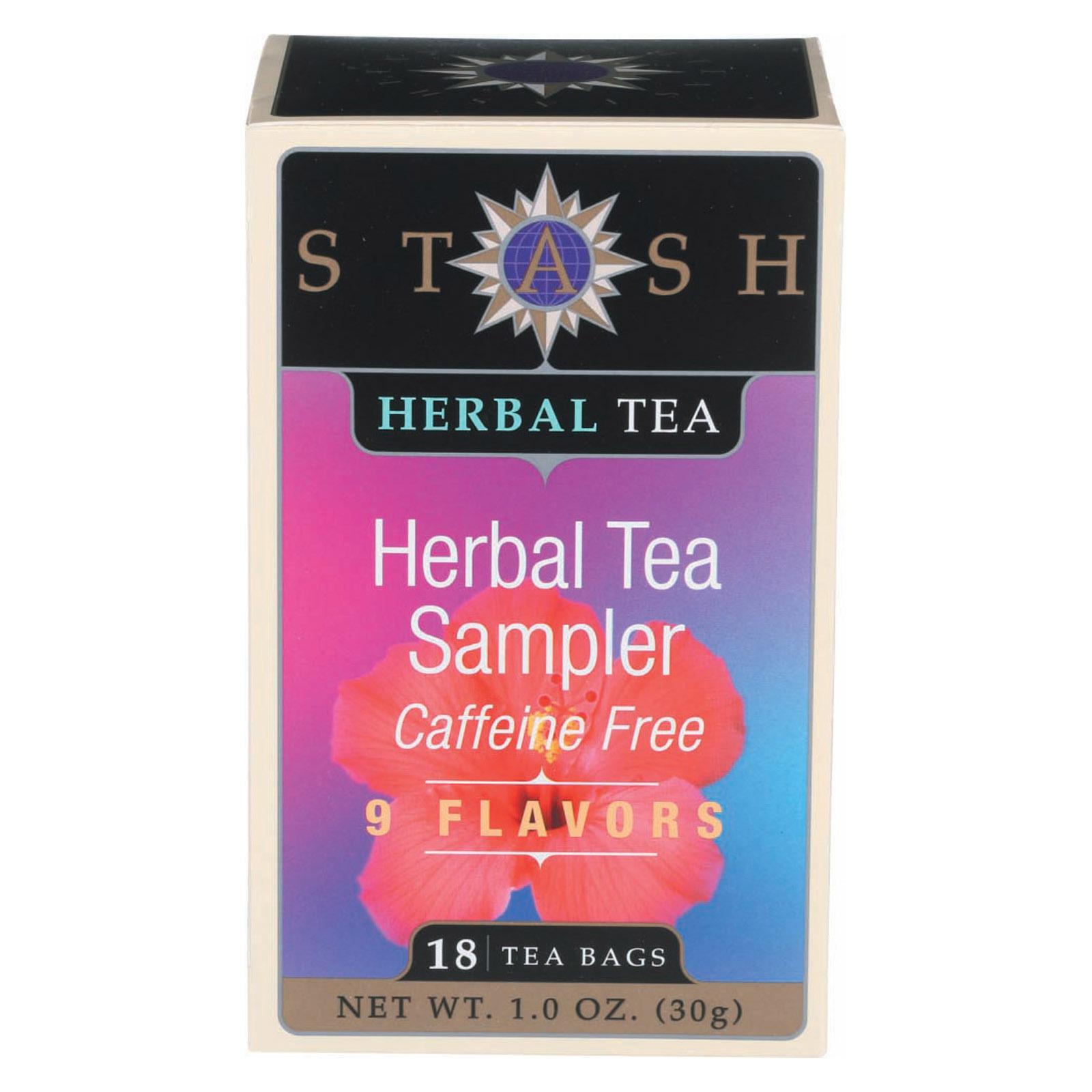 Stash Tea Tea - Herbal - Sampler - Case of 6 - 18 BAG