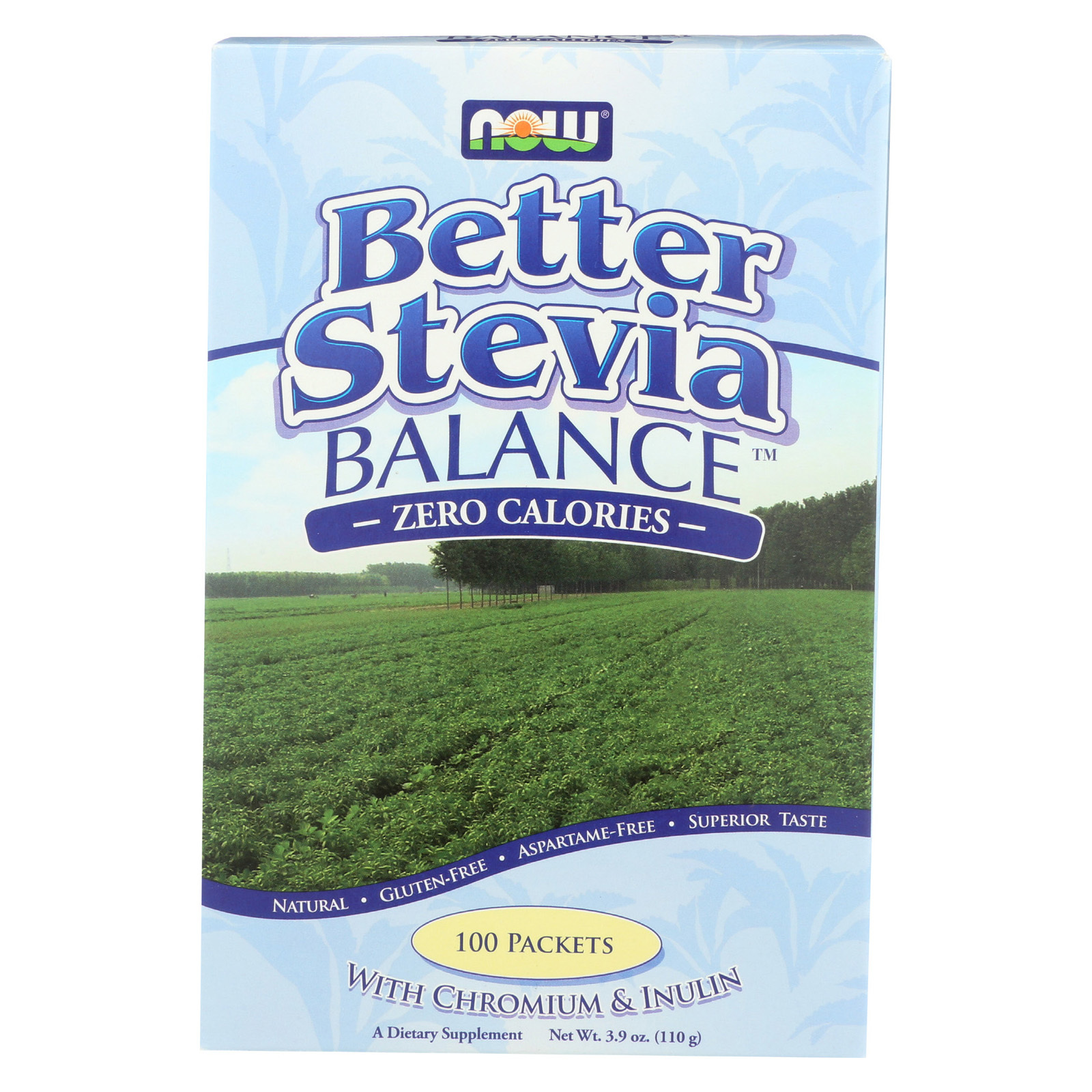 Now Foods Stevia Plus - 100 count