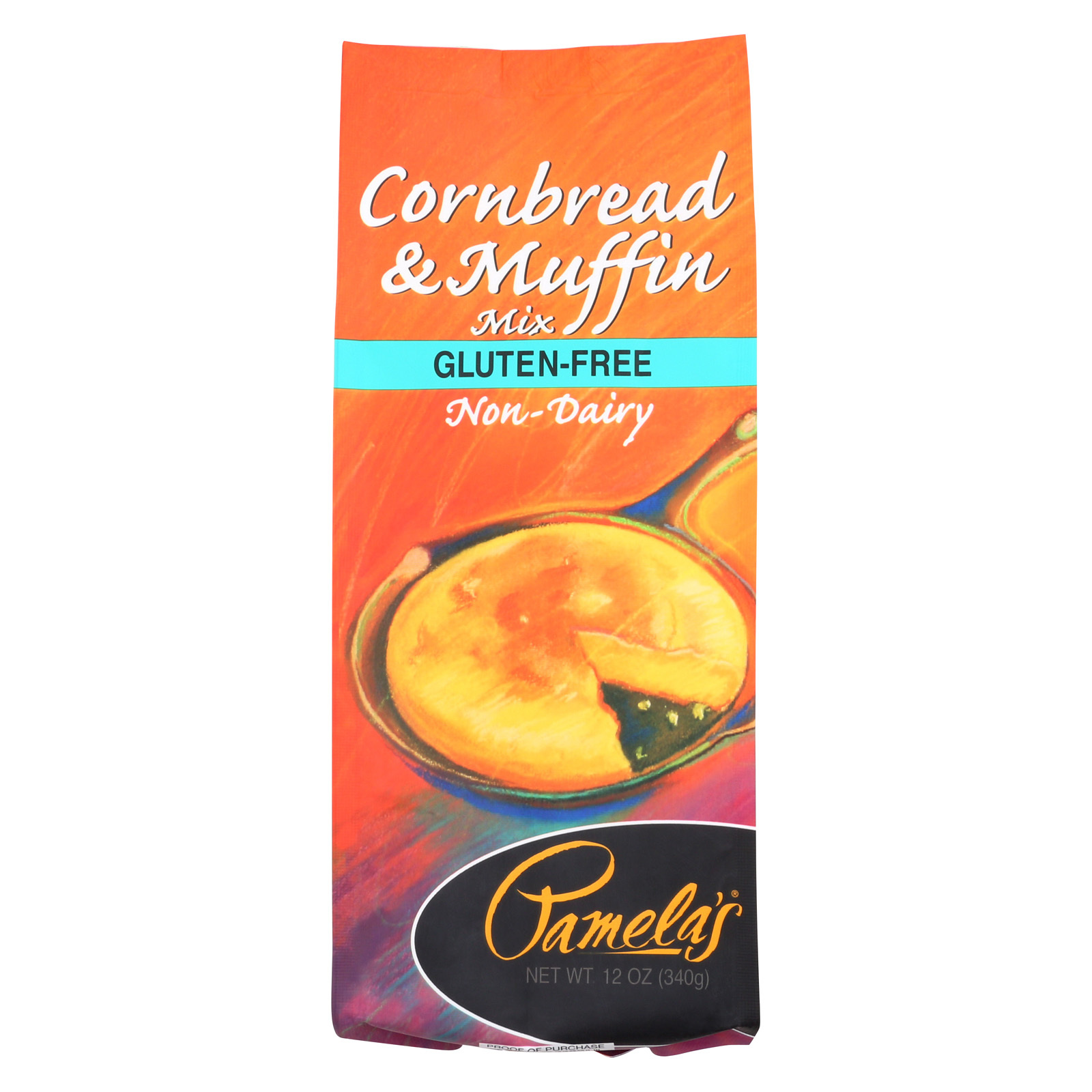 Pamela's Products Cornbread and Muffin - Mix - Case of 6 - 12 oz.
