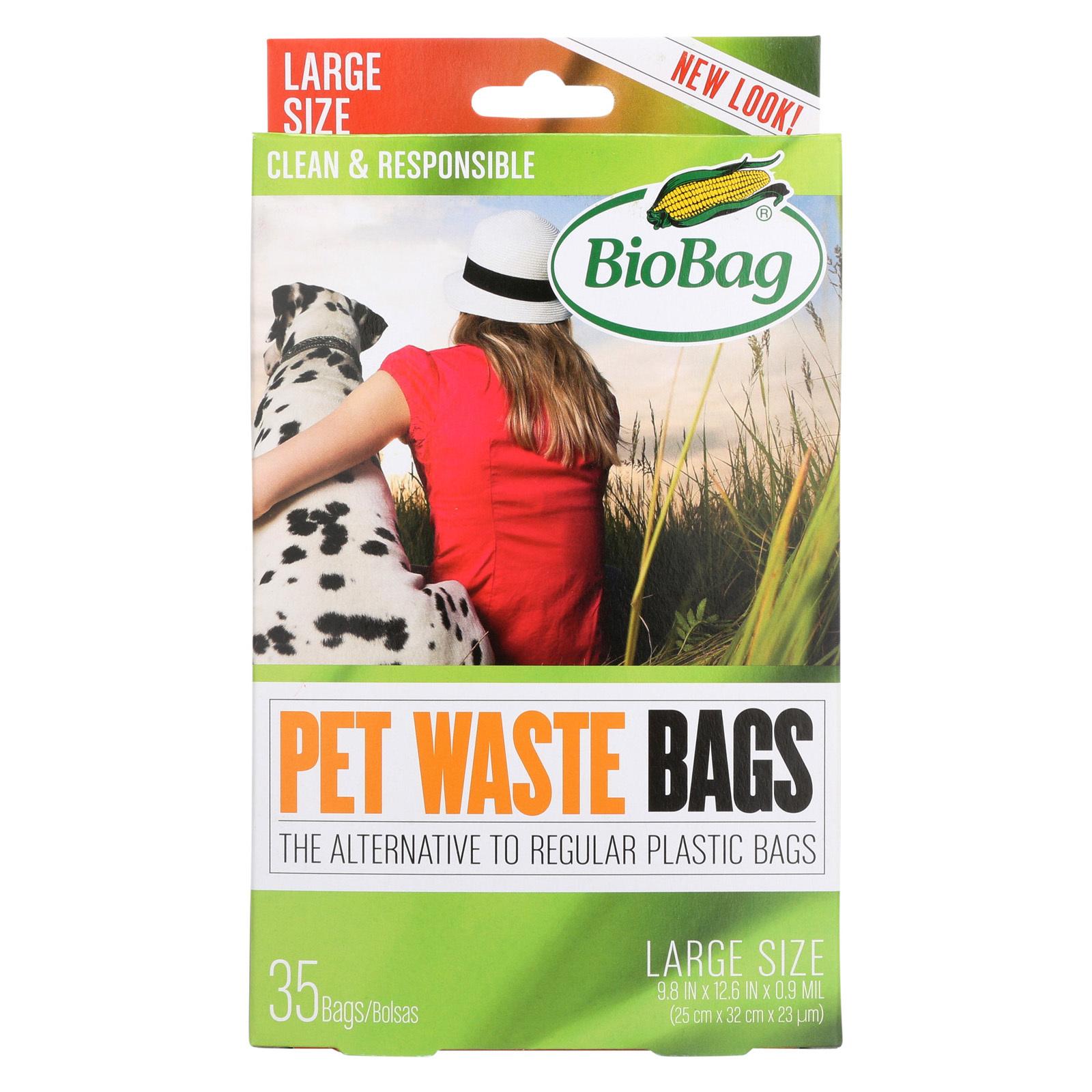 Biobag Dog Waste Bag - Case of 12 - 35 Count