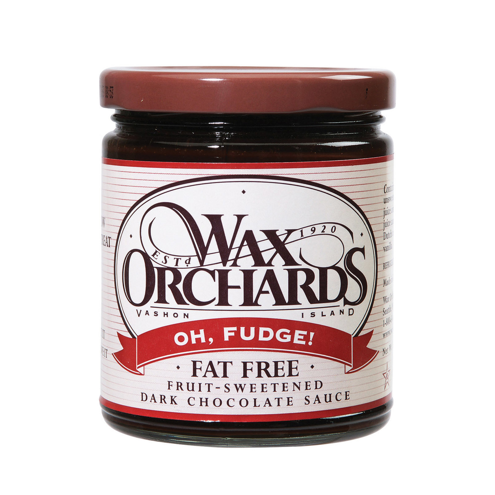 Wax Orchards Topping - Oh Fudge - 11 oz