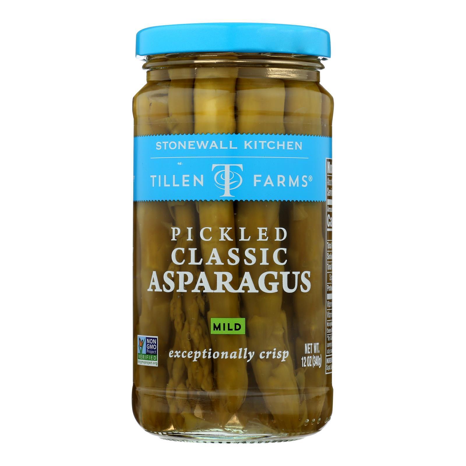 Tillen Farms Asparagus - Pickled - Crispy - 12 oz - case of 6