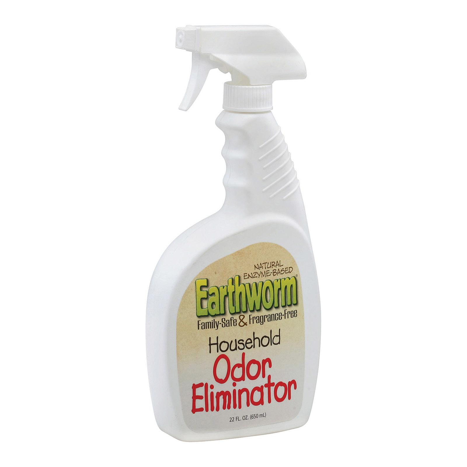 Earthworm Household Odor Eliminator - Case of 6 - 22 FL oz.