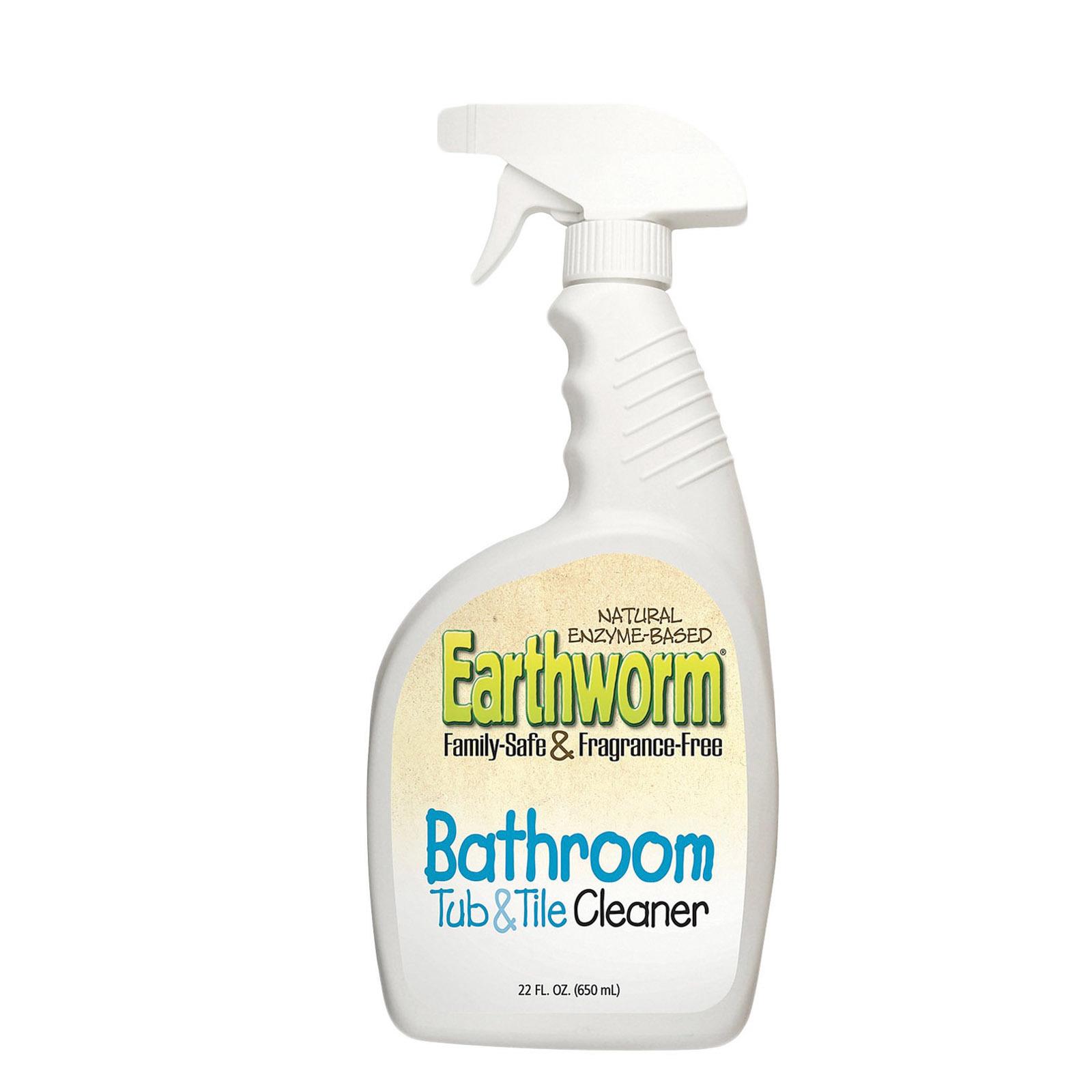 Earthworm Bathroom Tub and Tile Cleaner - Case of 6 - 22 FL oz.